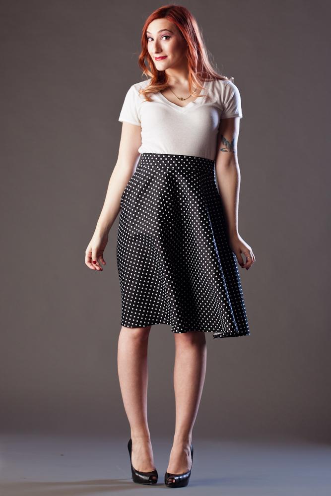 Beatrice Skirt $114, cotton sateen option (skirt only)