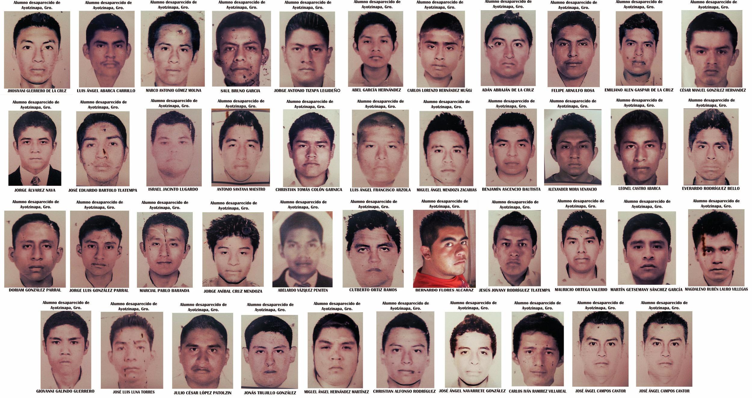 """i 43 studenti """"scomparsi"""""""