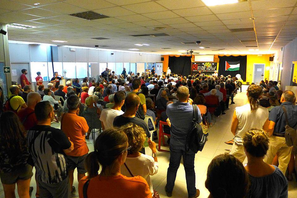 Assemblea pubblica alla RiMaflow il 9 settembre scorso