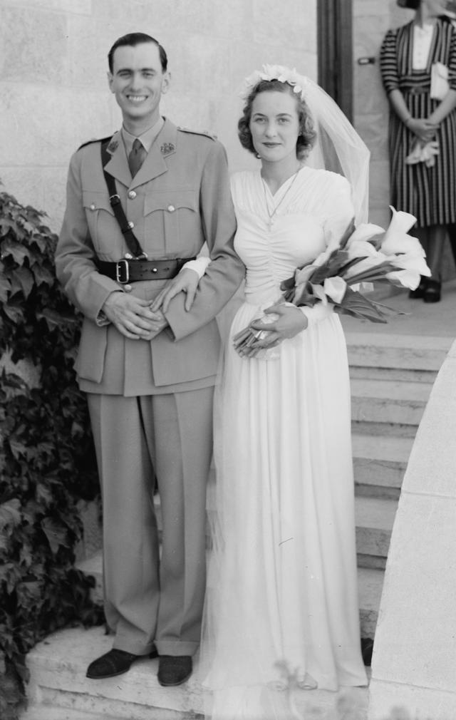 Circa 1942 Wedding Pose