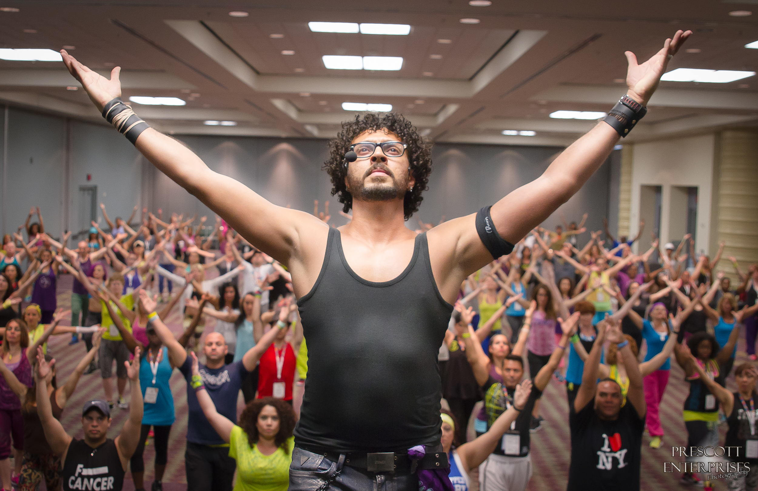 Passionate and natural images can be the most dynamic and stunning. Zumba presenter Fabio Barros never fails to show his passion for dance whenever he takes the stage.