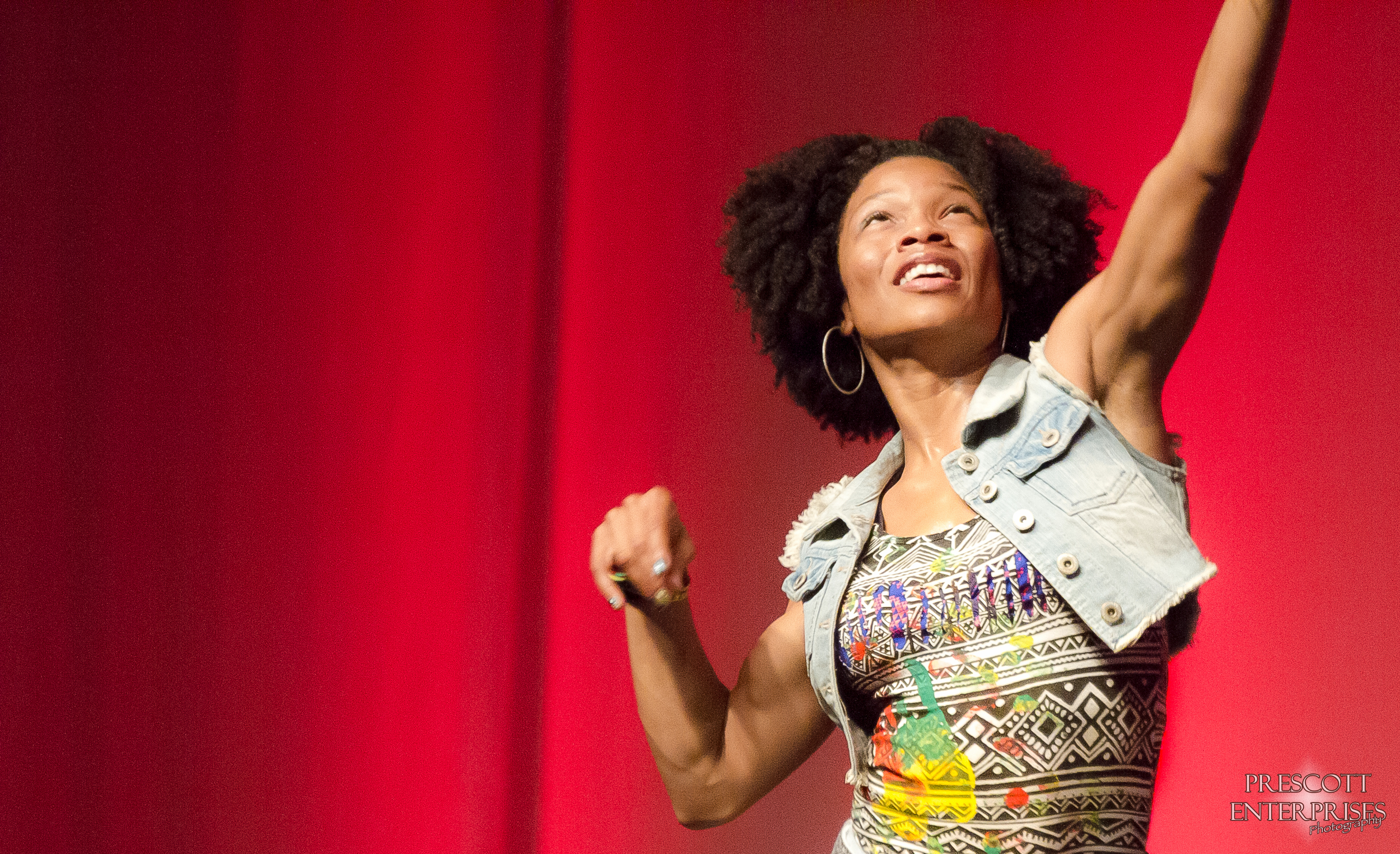 Zumba presenter Catherine Chiemelu exudes amazing energy and beauty and all with a natural look.