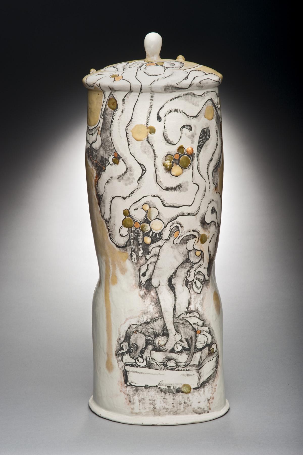 Trophy  ceramic