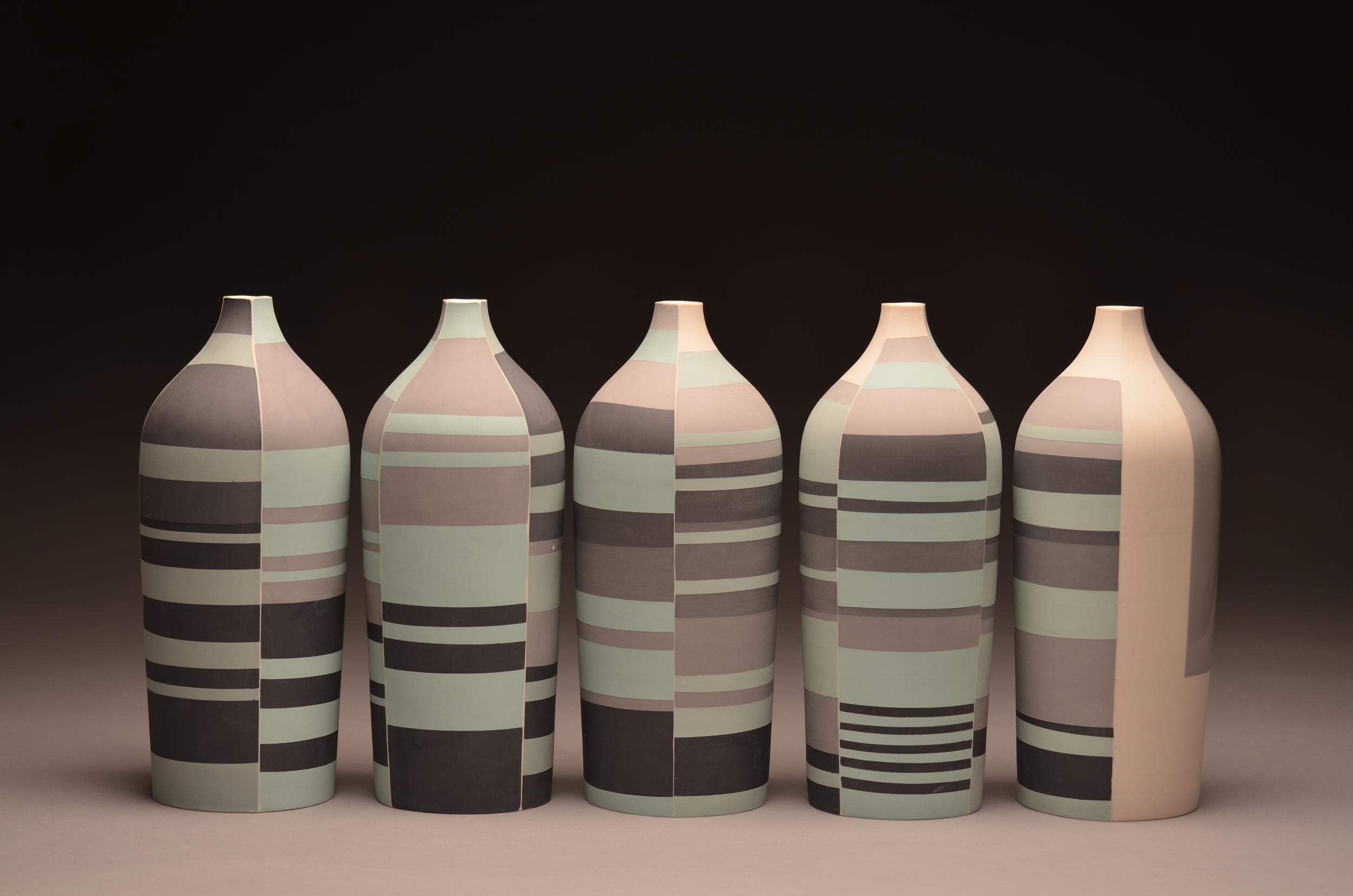 Bottles SOLD  ceramic