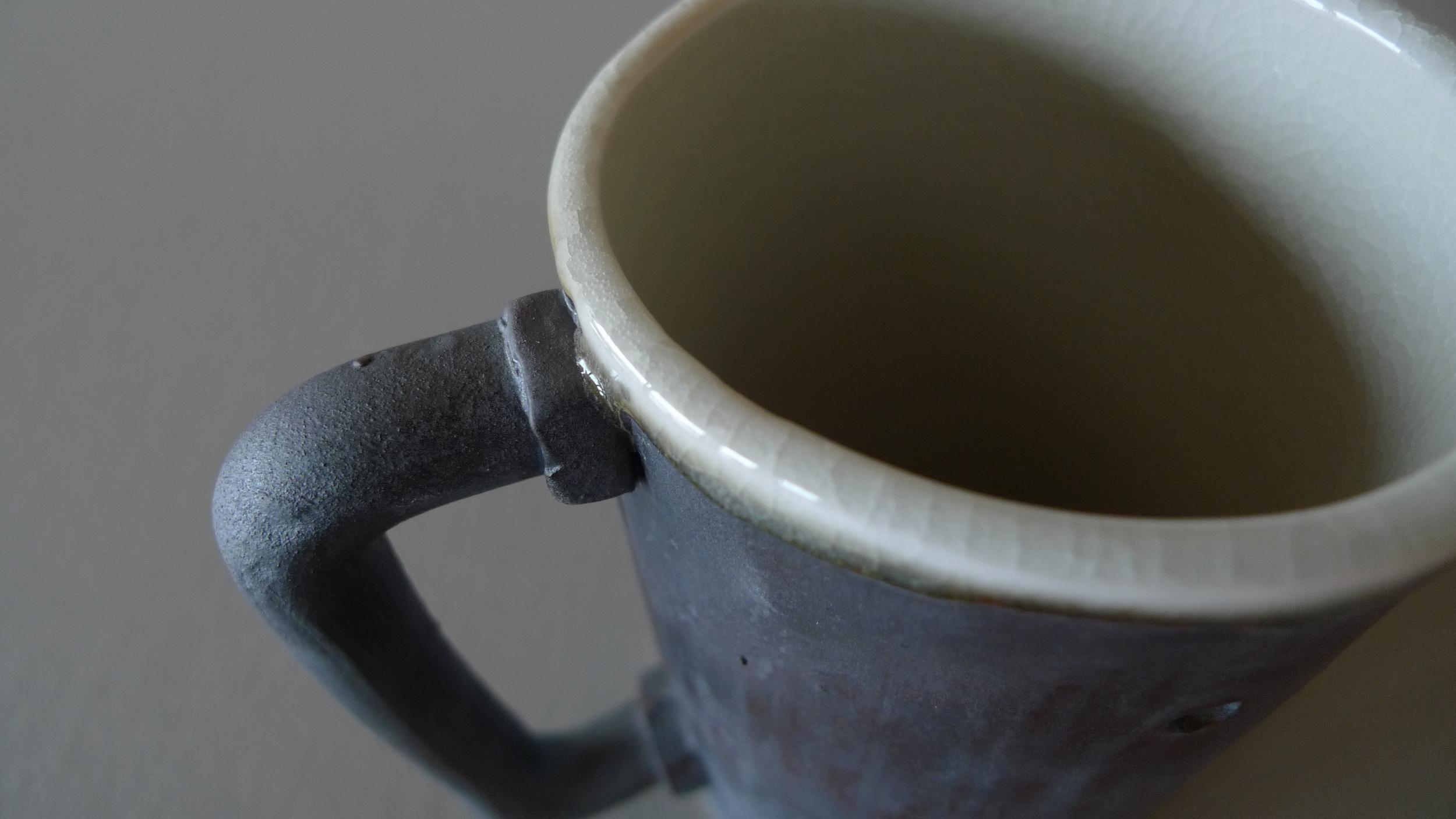 Detail of mug by Michael Schwegmann