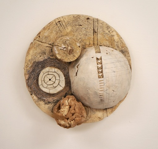 Surface II $300  found and reclaimed clays, kaolin, oxides, glazes 4.25 x 10 x 10