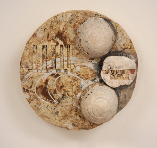 Surface IV $300  found and reclaimed clays, kaolin, oxides, glazes 3.75 x 10.5 x 10.5