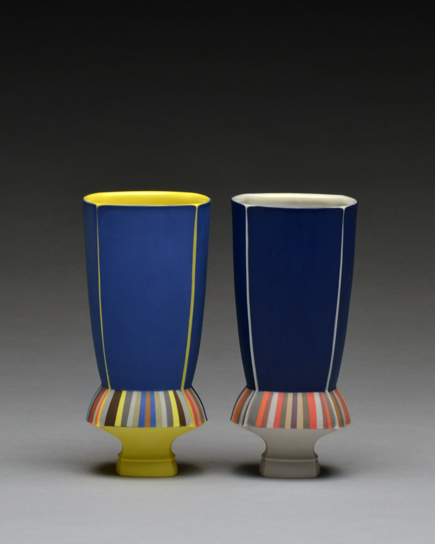 Cups SOLD  porcelain 6 x 3 x 3