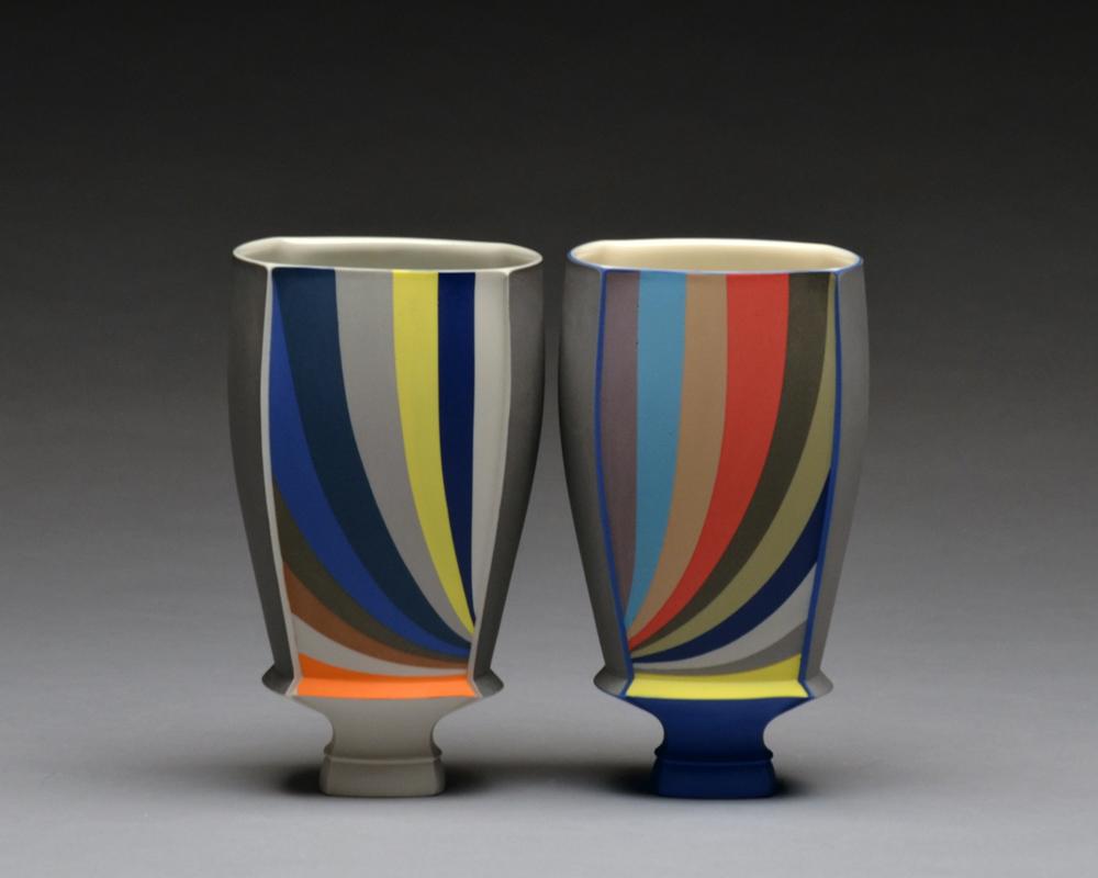 Cups SOLD  porcelain 6.5 x 3.5 x 3