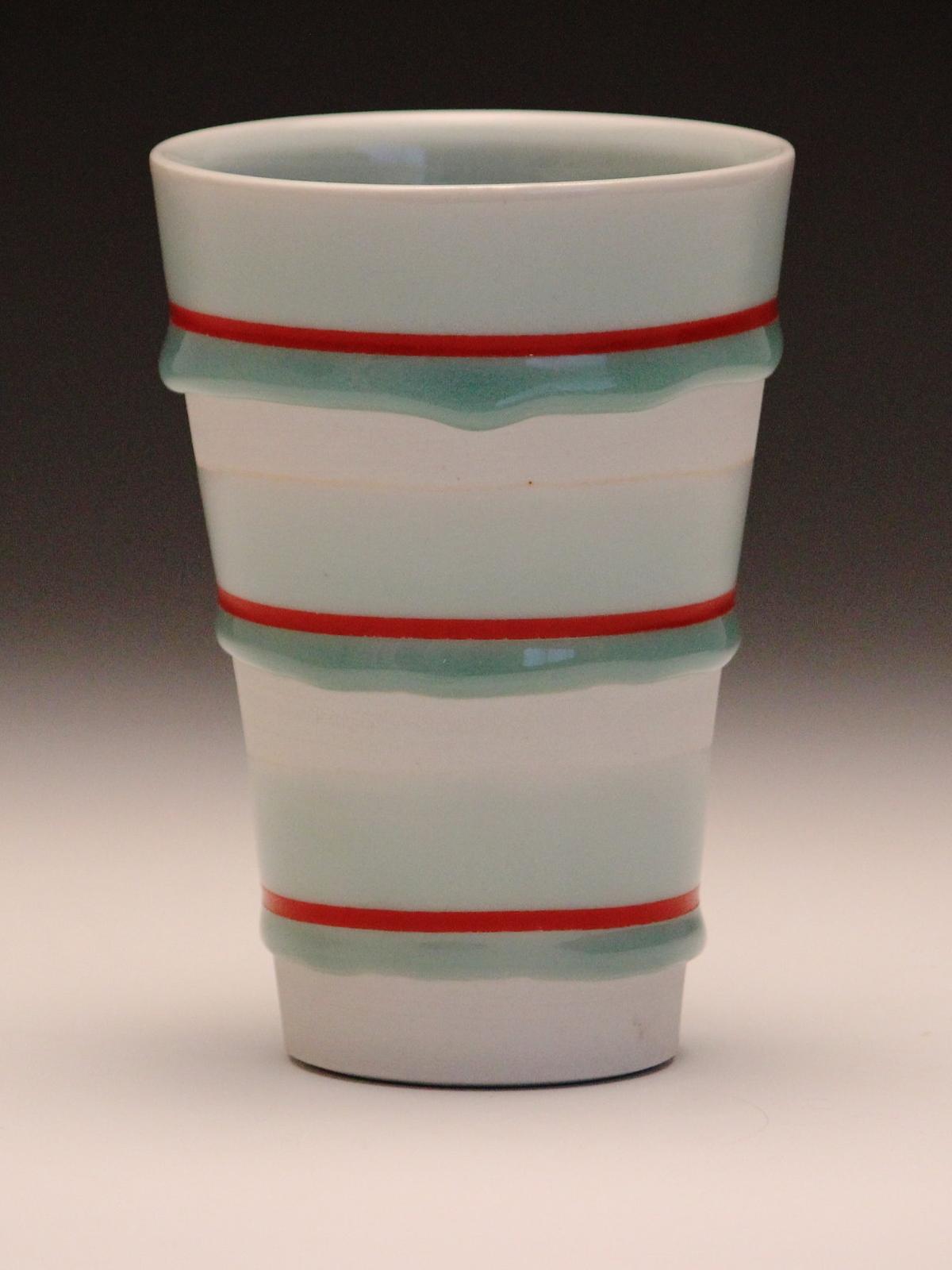 Tumbler  porcelain, decal