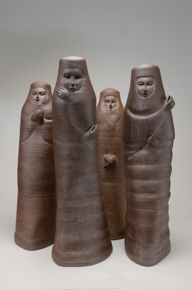 The Mourners $980 each stoneware