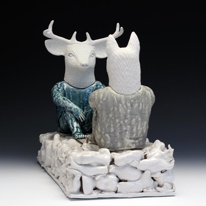 Predation II  ceramic