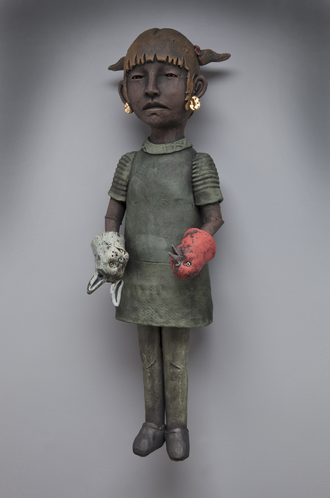 Girl with Animal Hands
