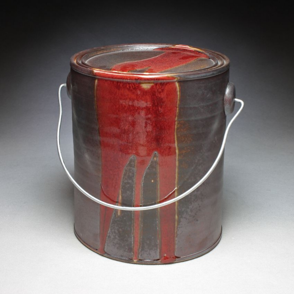 Paint Can - Red