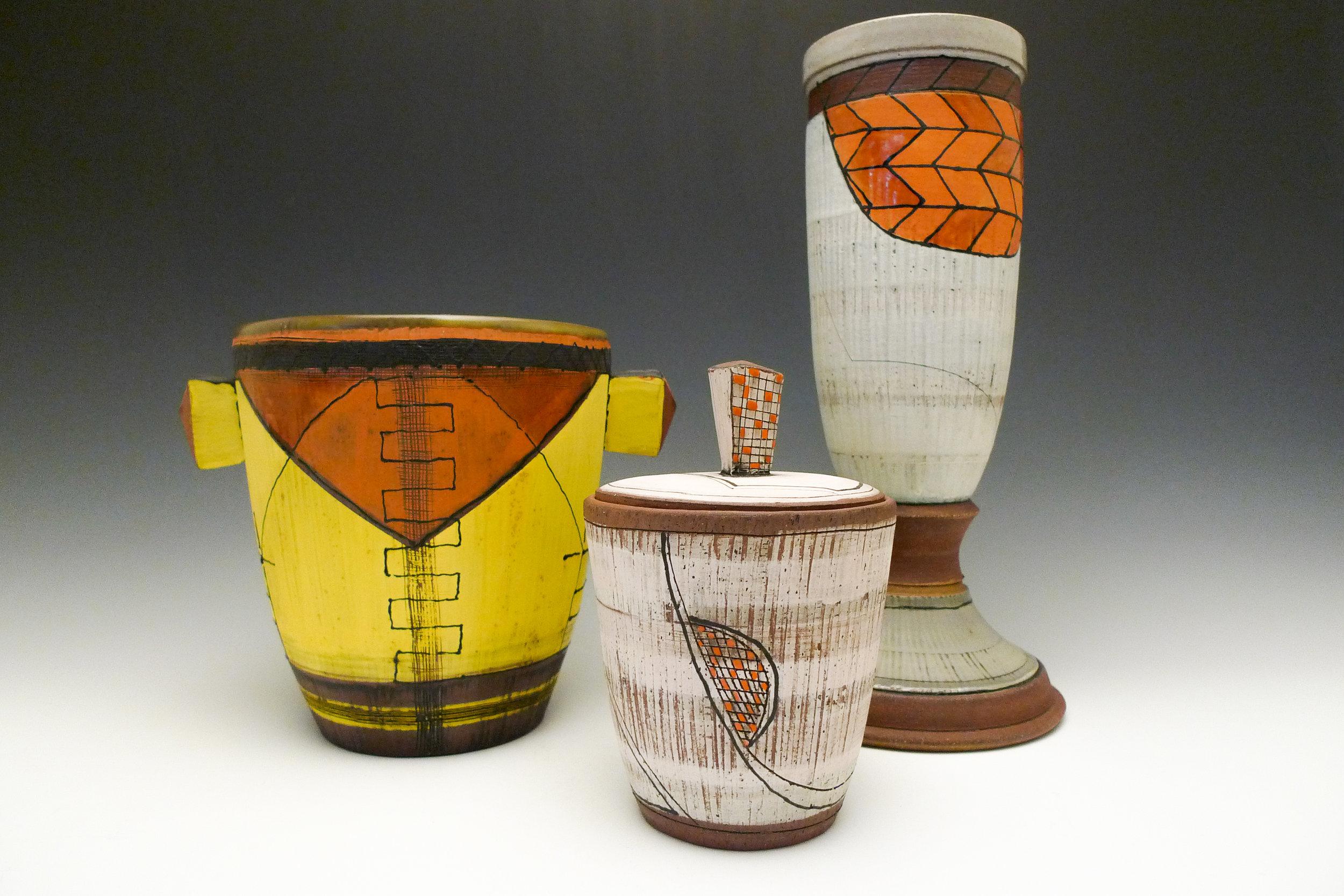 Vessels ceramic