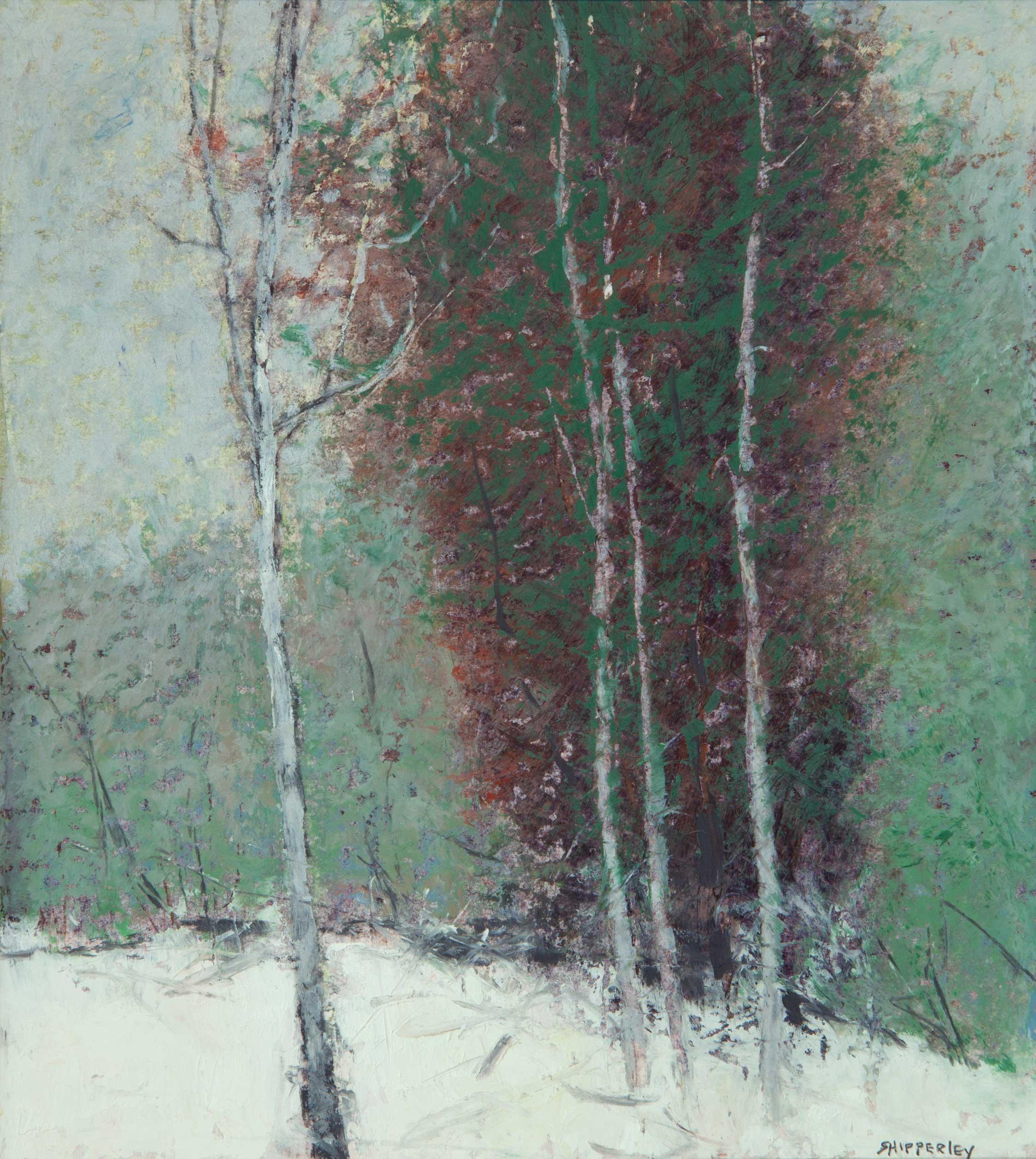 Winter Grays 16 x 15 (9 x 8) $850