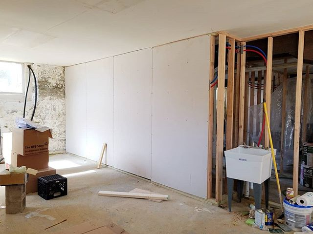 Work on the artist studio's is finally progressing! @abelcontemporary #aoartswarehouse #stoughtonwi #artiststudio #tobaccowarehouse #renovation #historicbuilding #historicrenovation #wisconsinart