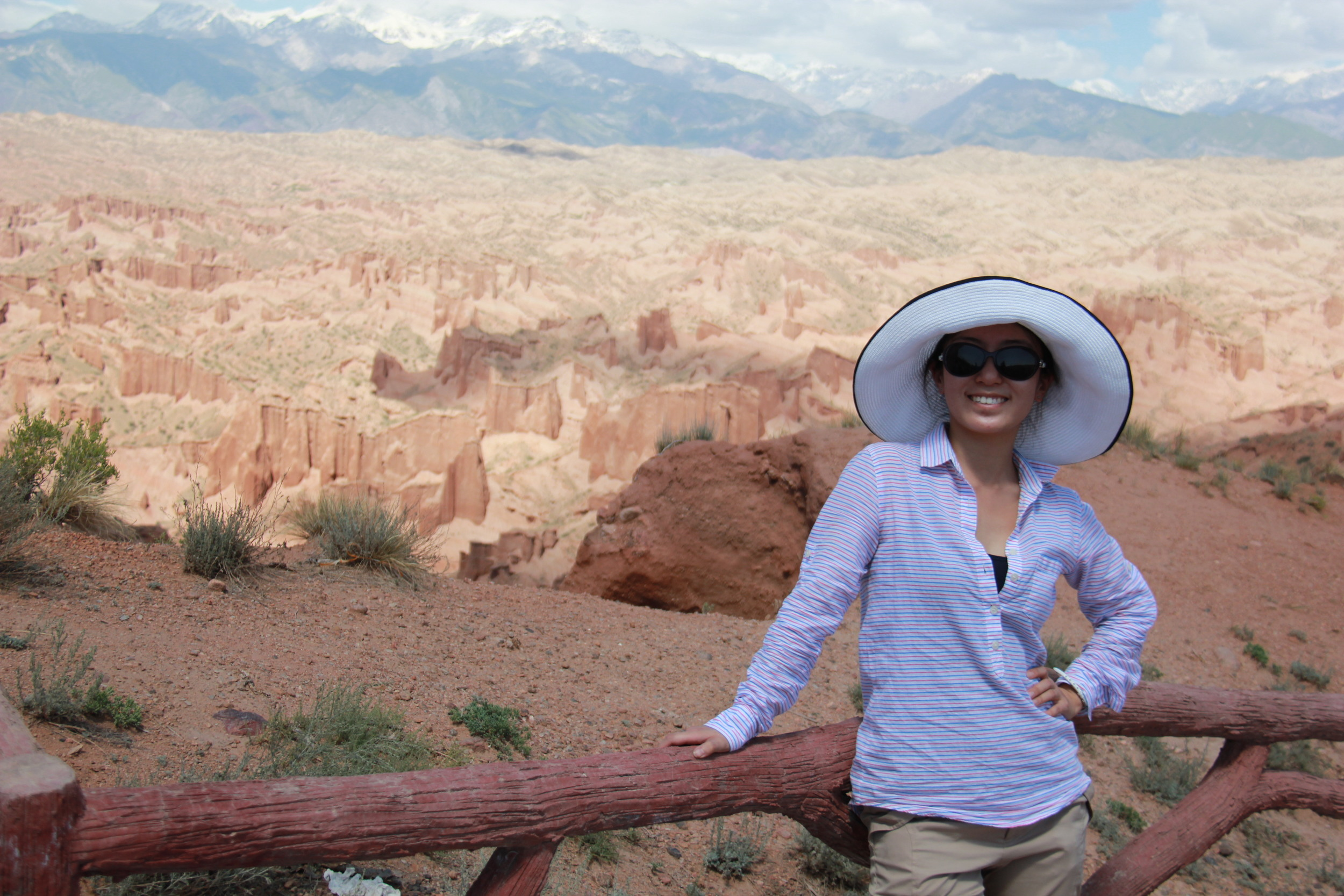Magnificent view of Wensu Grand Canyon, Wensu County, Aksu