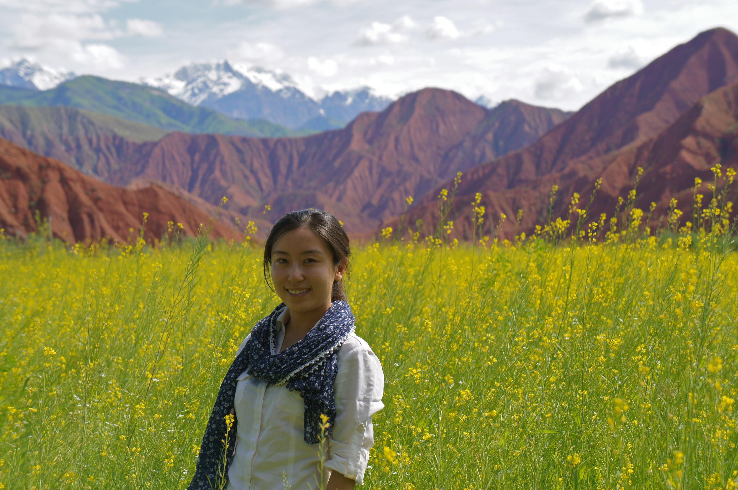 The Tianshan Mountain