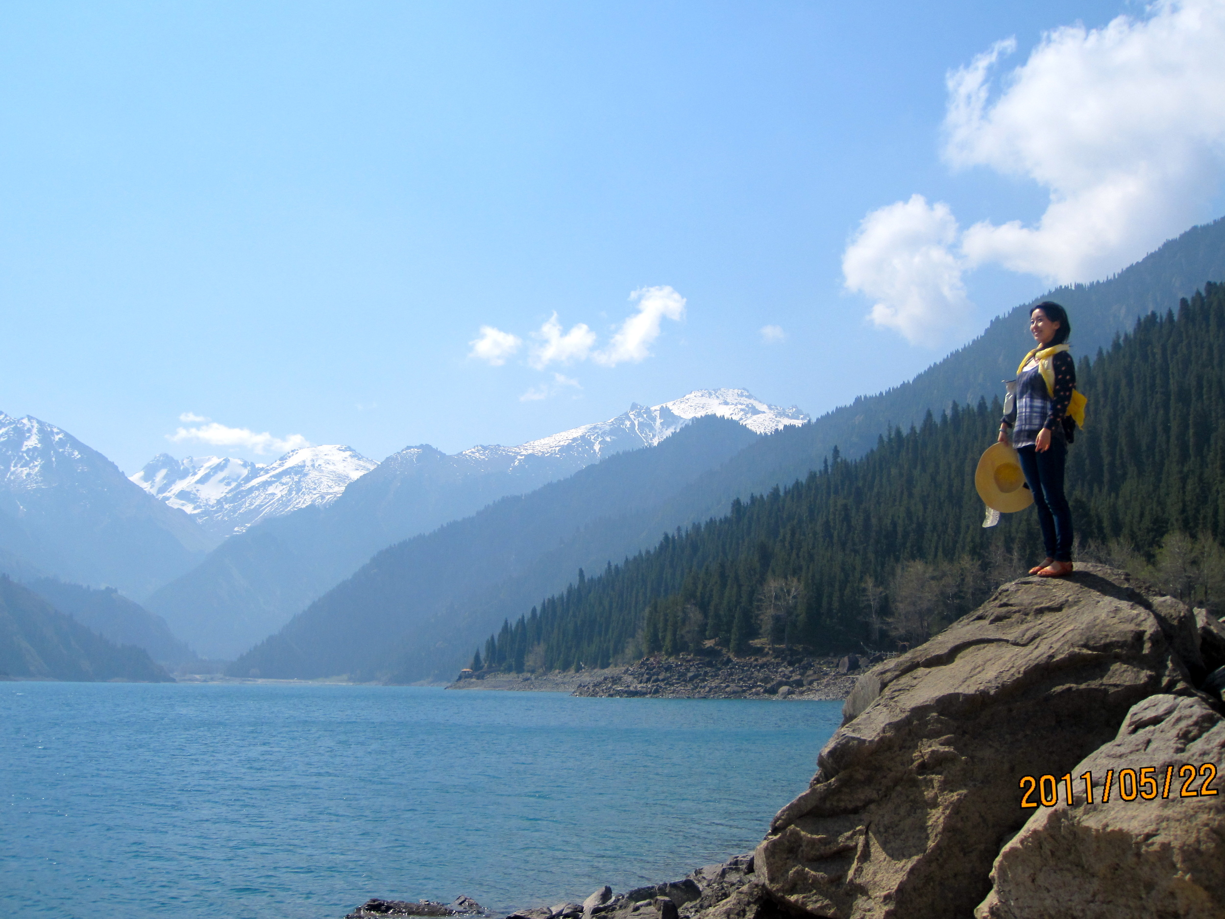 Heaven Lake of The Tianshan Mountain