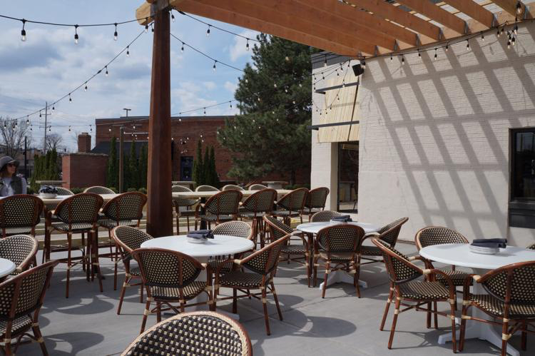The restaurant also boasts a large outdoor patio with bocce ball courts and space for fire pits.