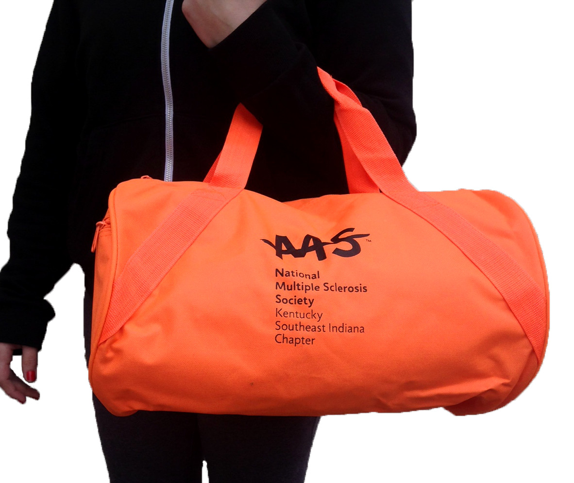 National Multiple Sclerosis Society Duffel Bag