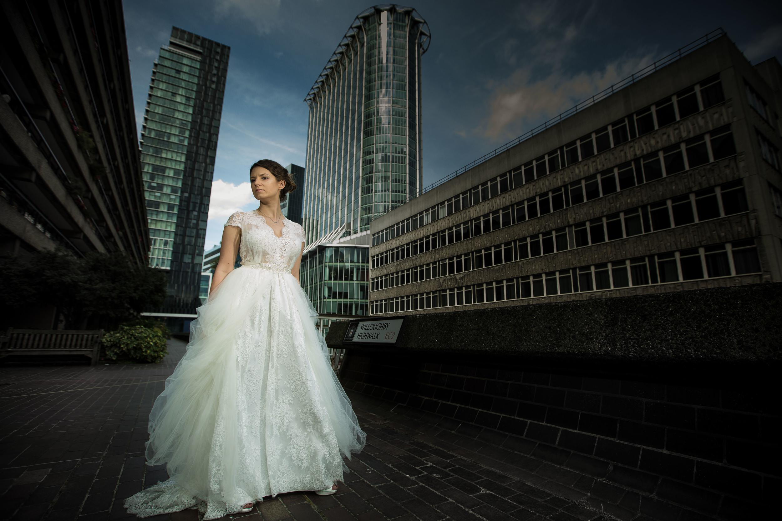 russian-bride-barbican-london-uk-destination-wedding-photography-Adam-Rowley