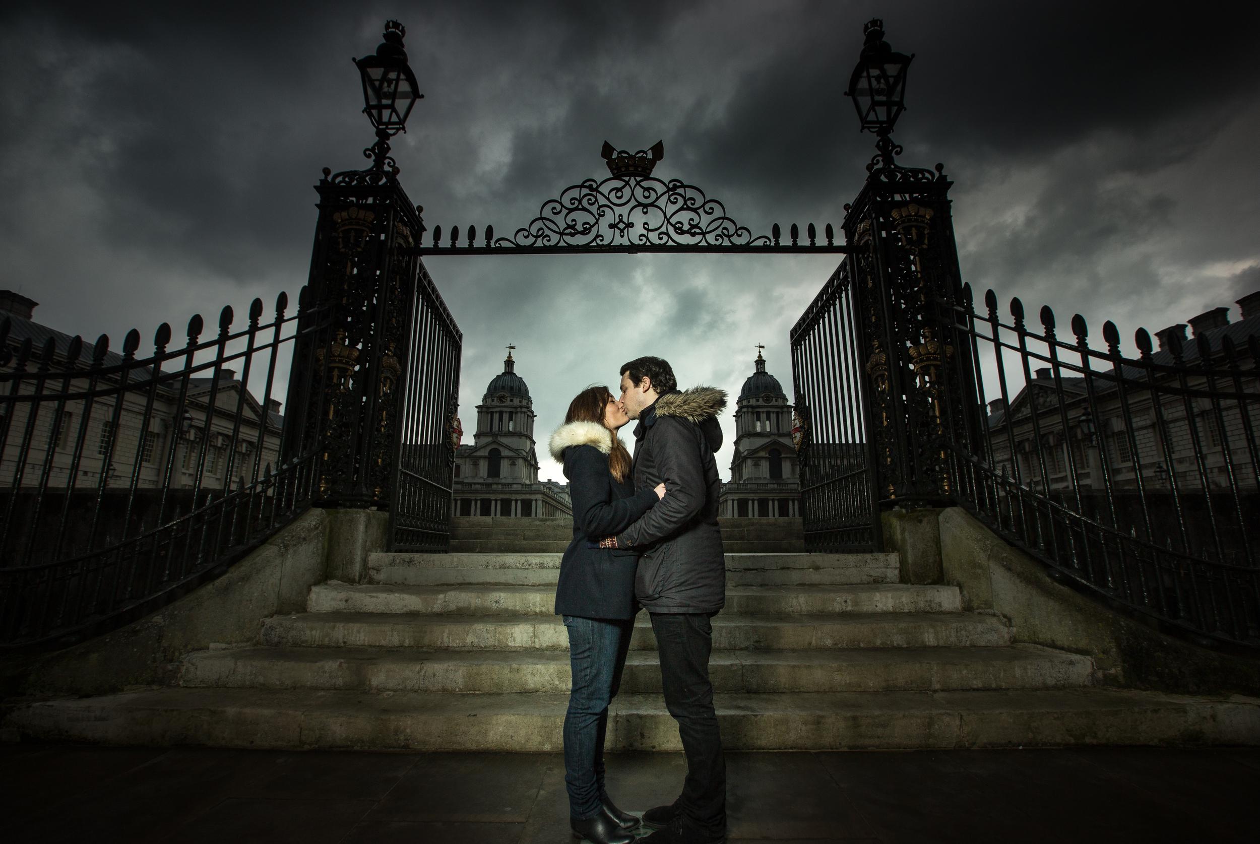 greenwich-royal-naval-academy-engagement-london-uk-destination-wedding-photography-Adam-Rowley