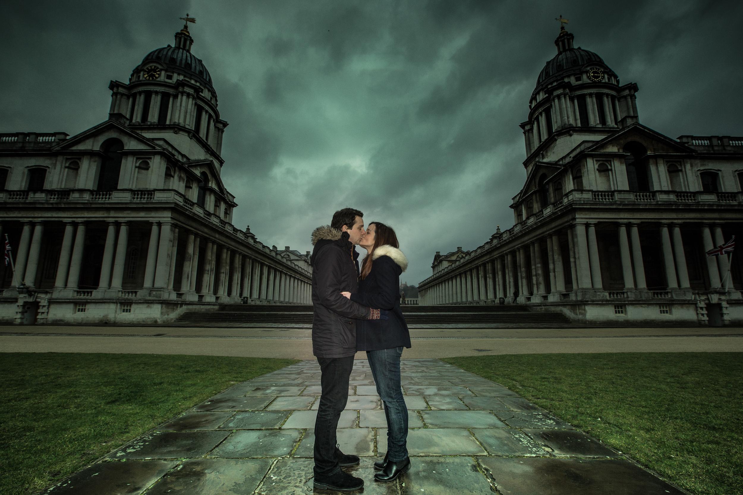 greenwich-royal-naval-academy-engagement-6-london-uk-destination-wedding-photography-Adam-Rowley