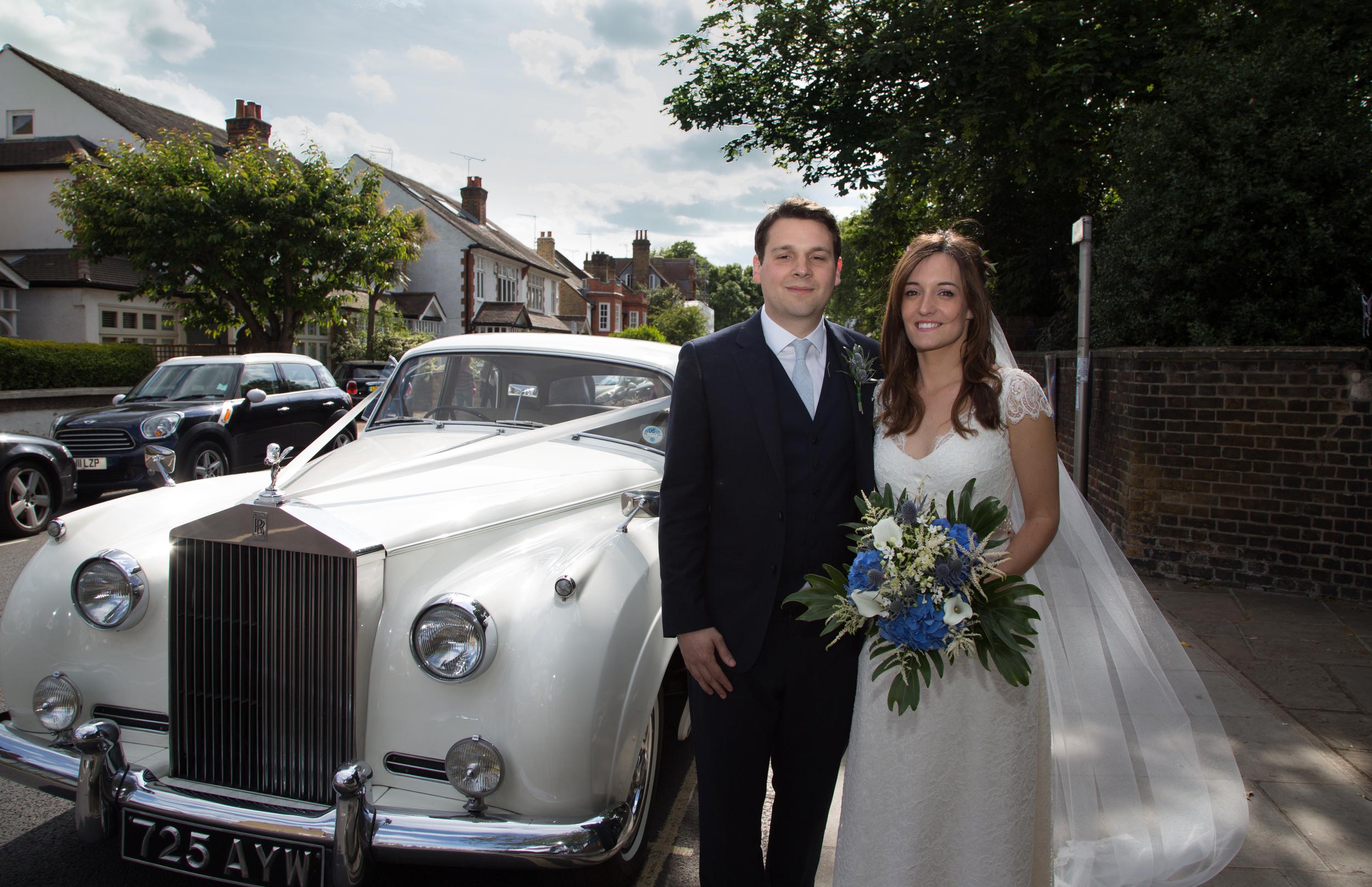 st-marys-church-rolls-royce-london-uk-destination-wedding-photography-Adam-Rowley