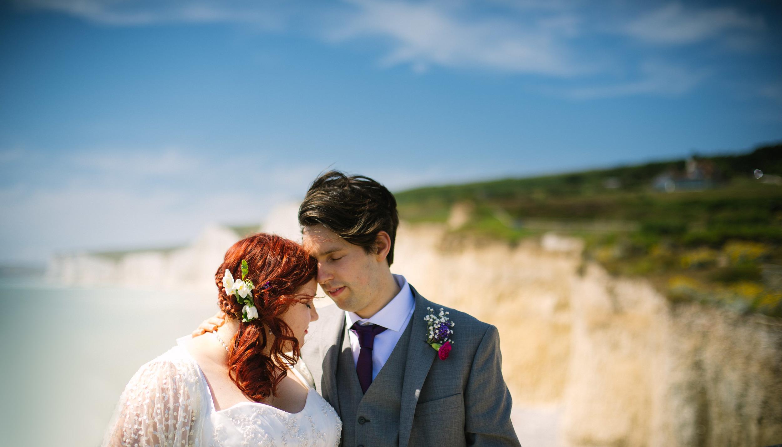 eastbourne-romance-birling-gap-london-uk-destination-wedding-photography-Adam-Rowley