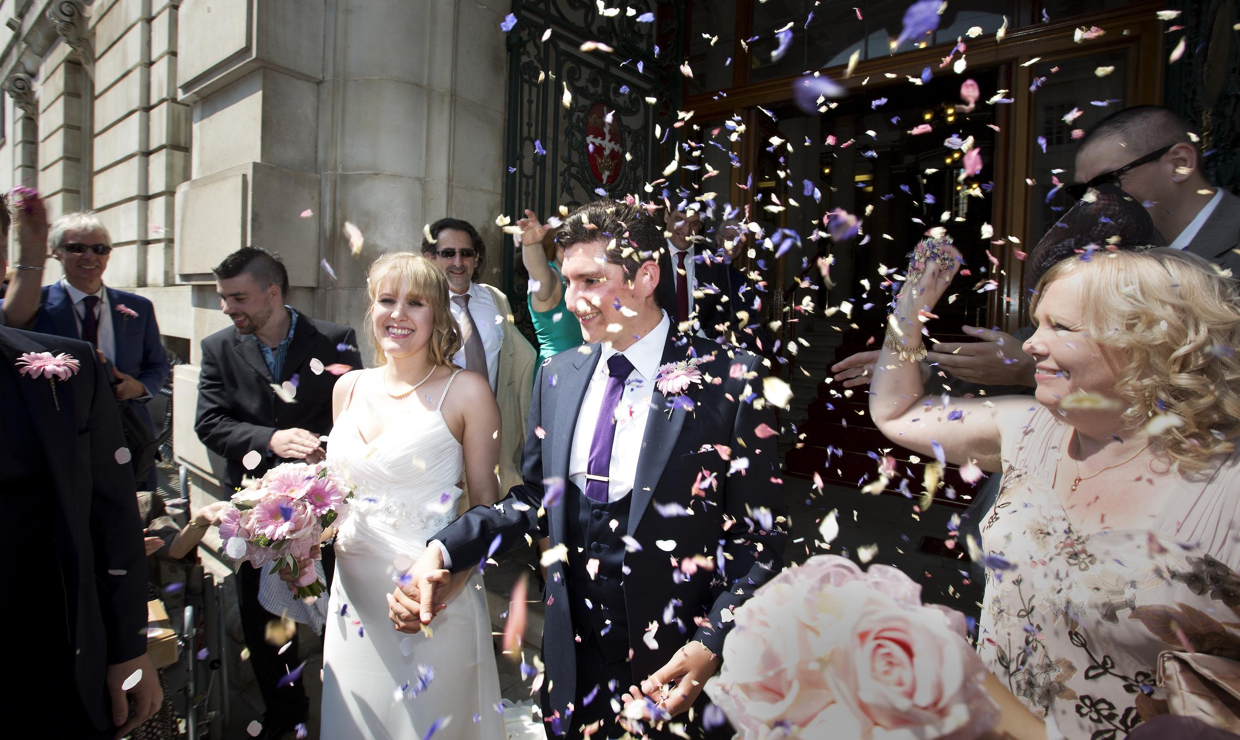 colchester wedding confetti 1