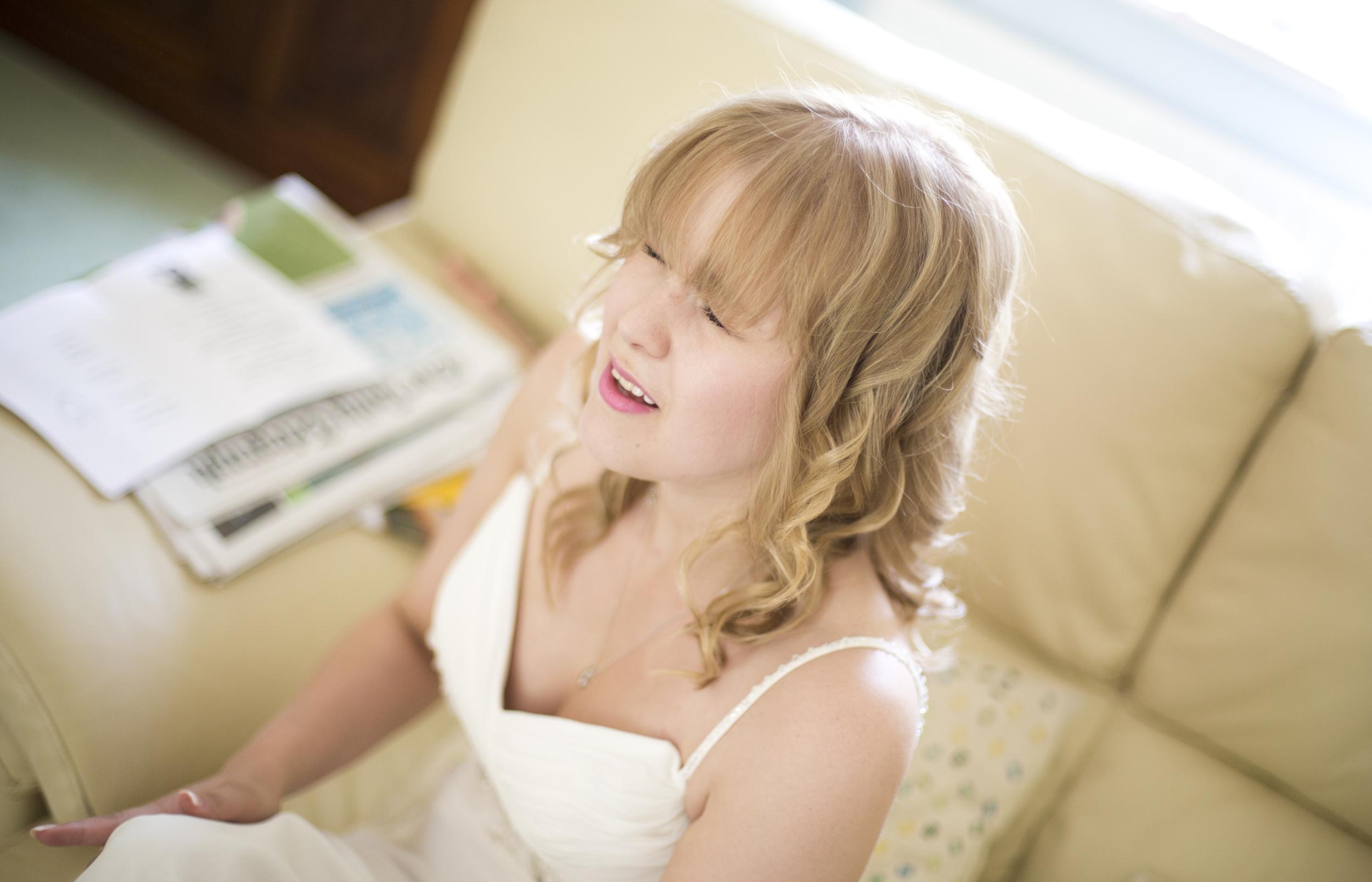 colchester wedding nervous bride