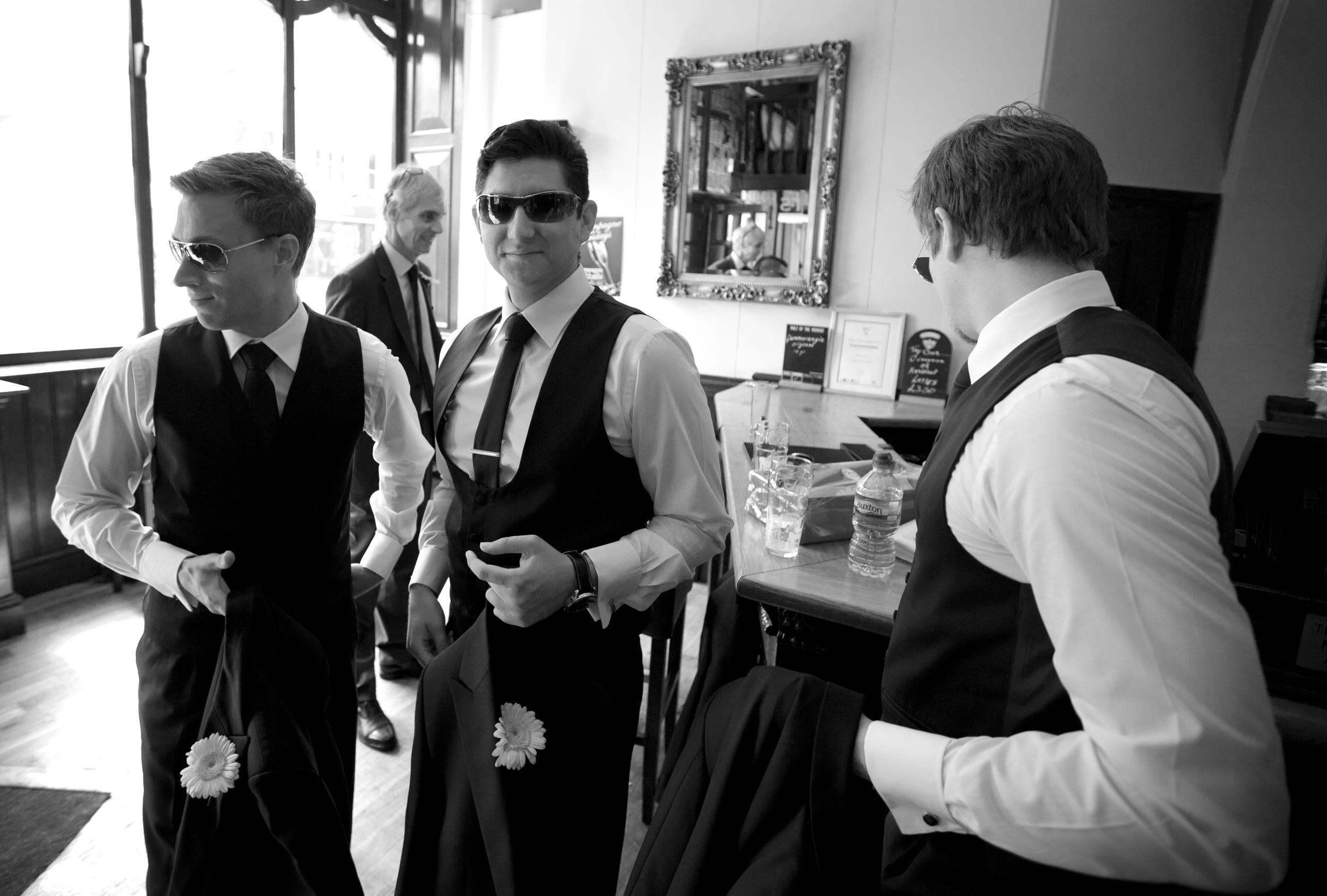 colchester wedding groomsmen