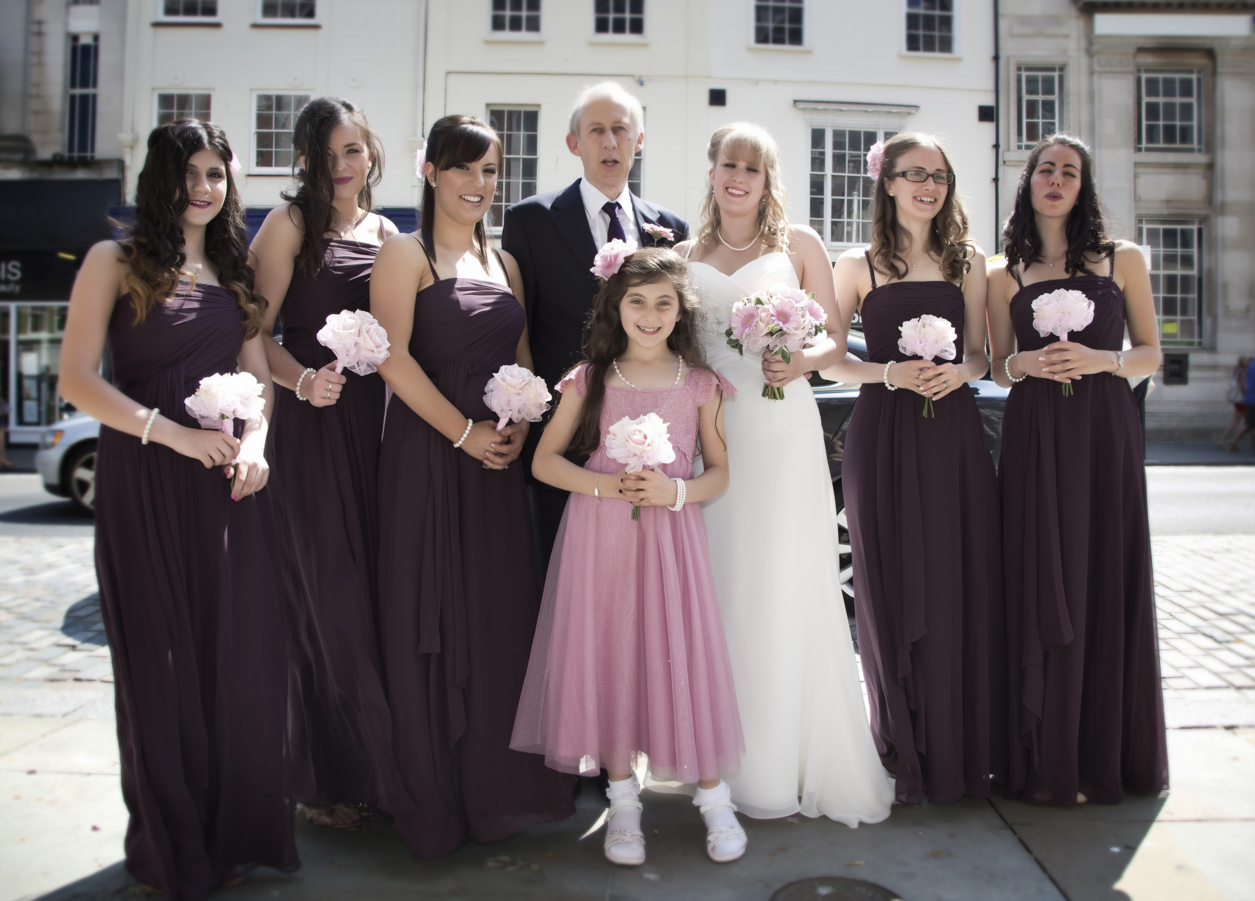 colchester wedding group shot 1