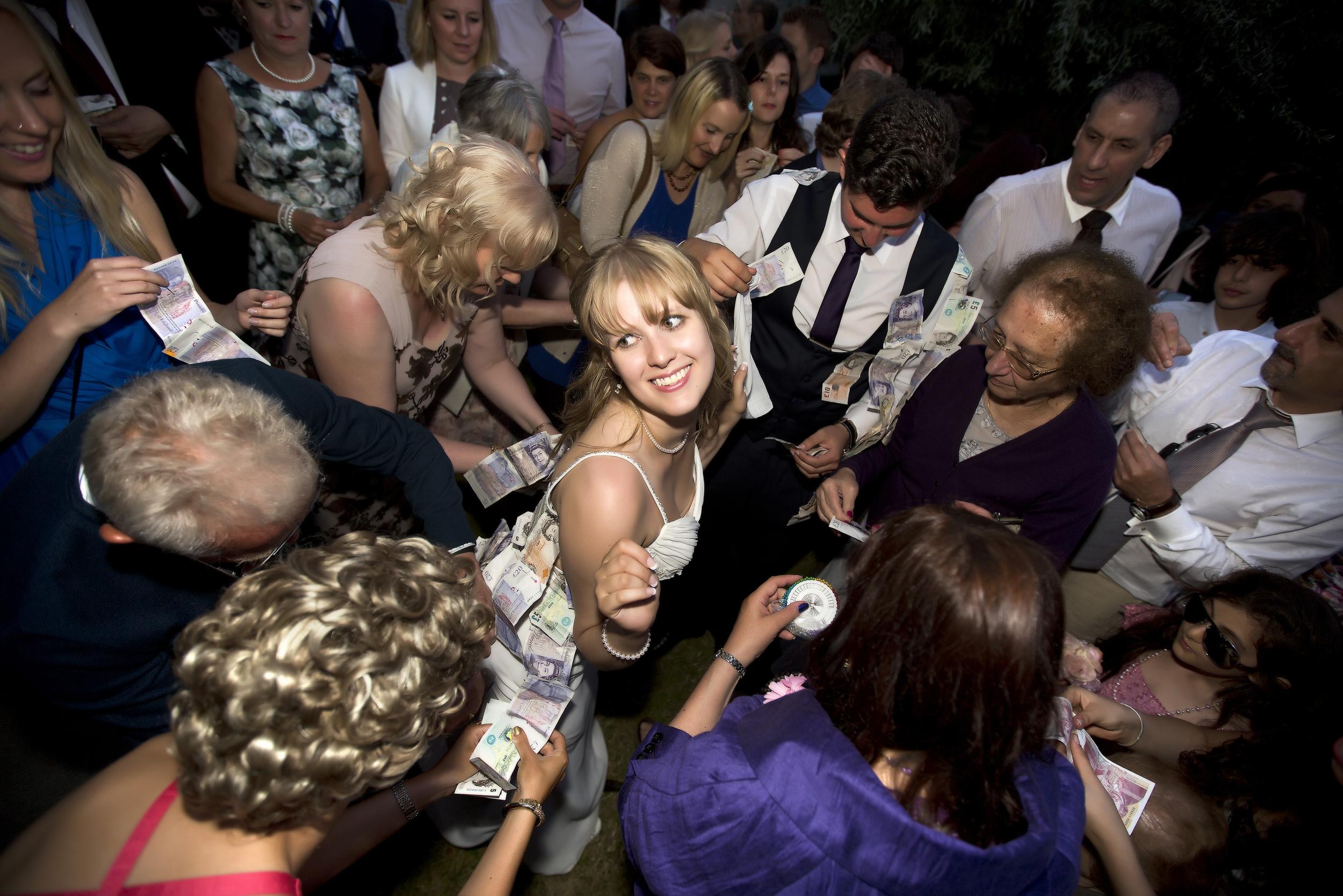colchester wedding greek cypriot money dance