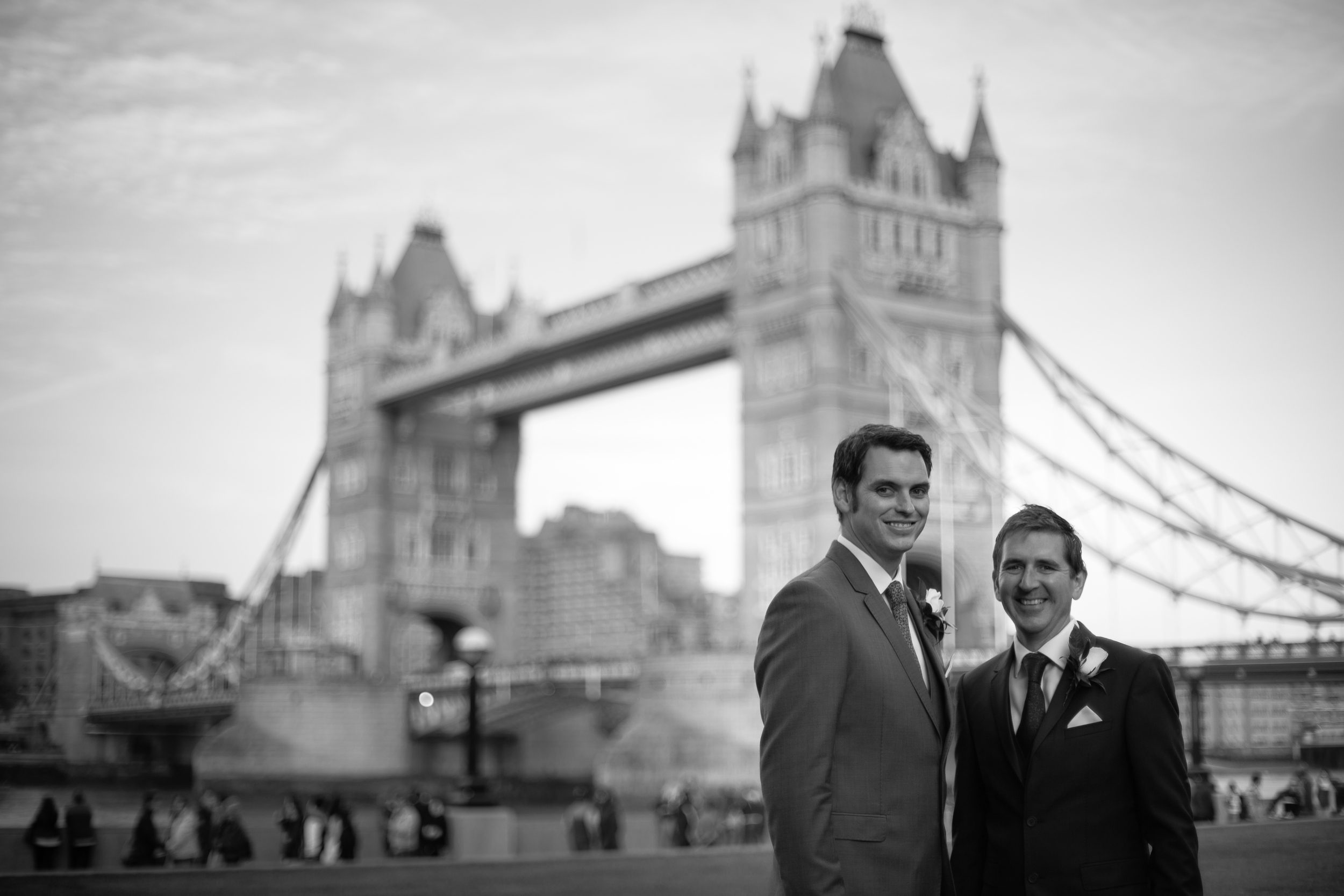 Tower Bridge wedding same sex marriage london 1