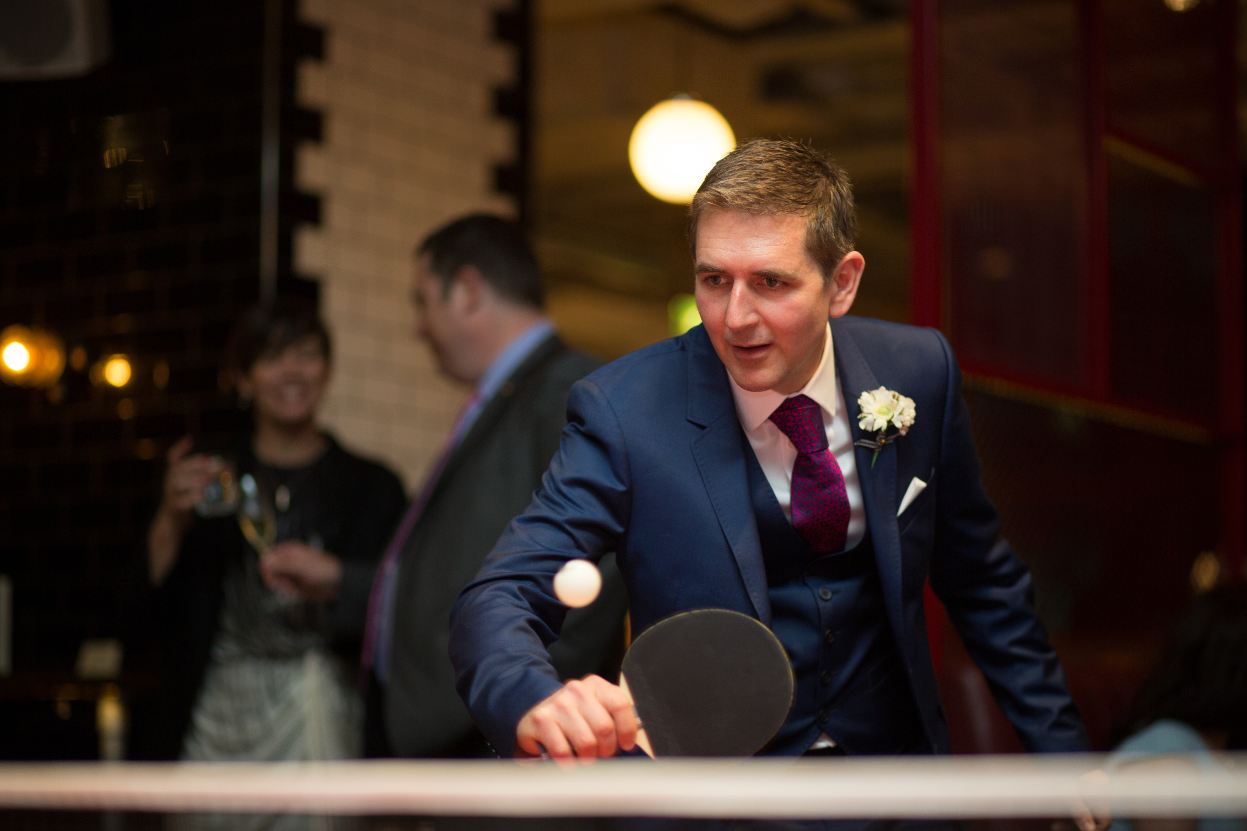 Bounce table tennis wedding same sex marriage london 2