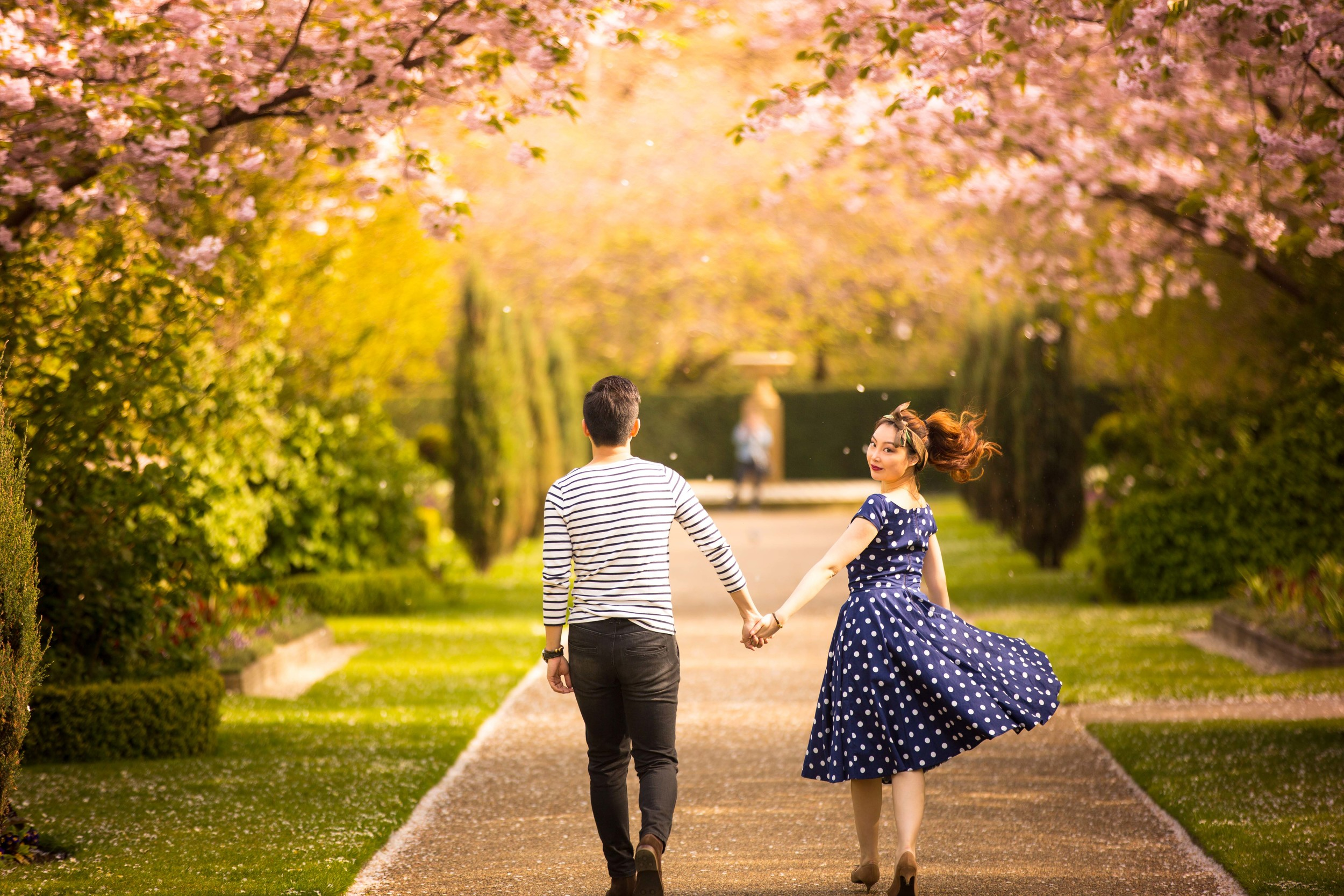 Asian-London-Vintage-Engagement-Wedding-Shoot-Notting-Hill-Regents-Park-1