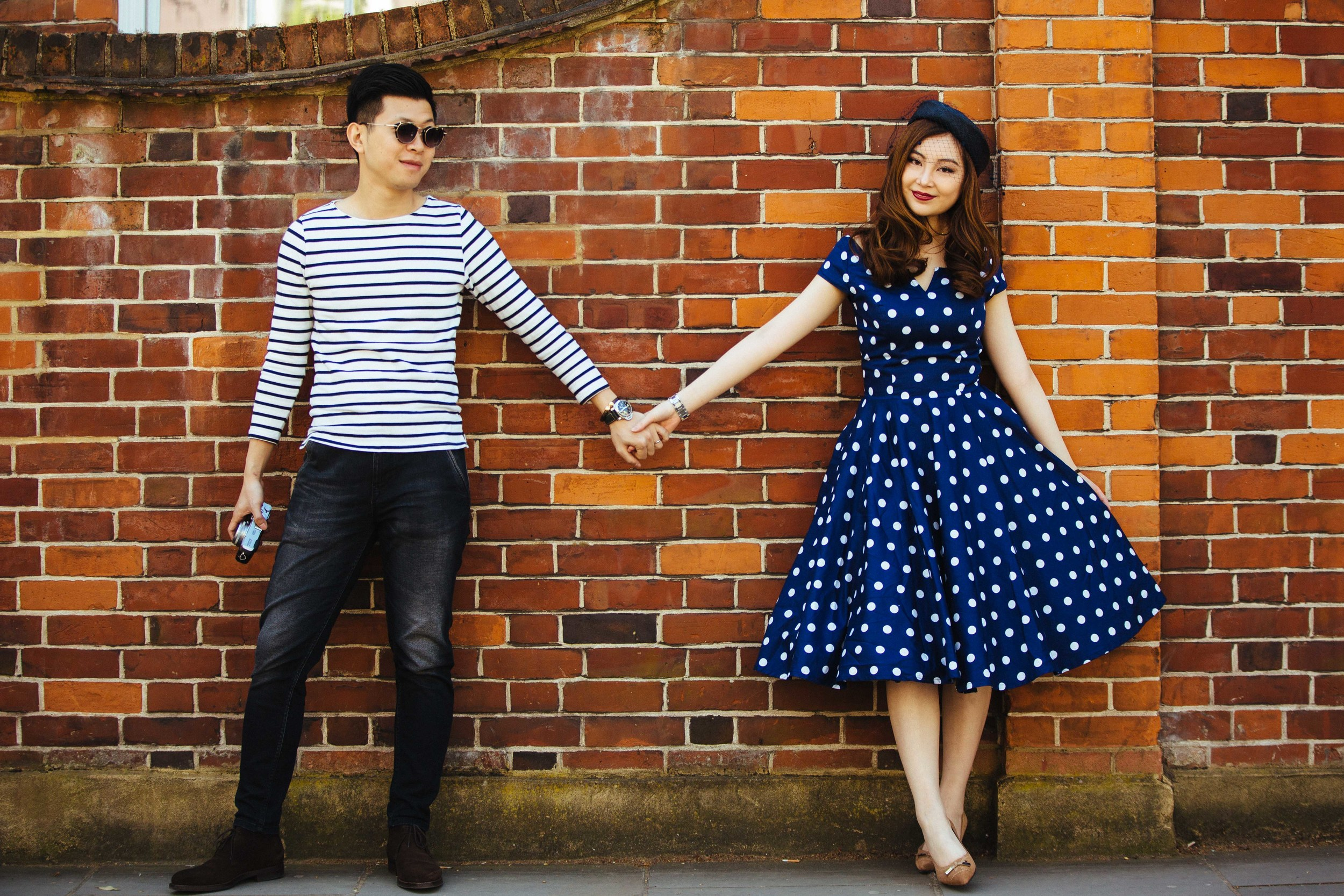 Asian-London-Vintage-Engagement-Wedding-Shoot-Notting-Hill-Regents-Park-5