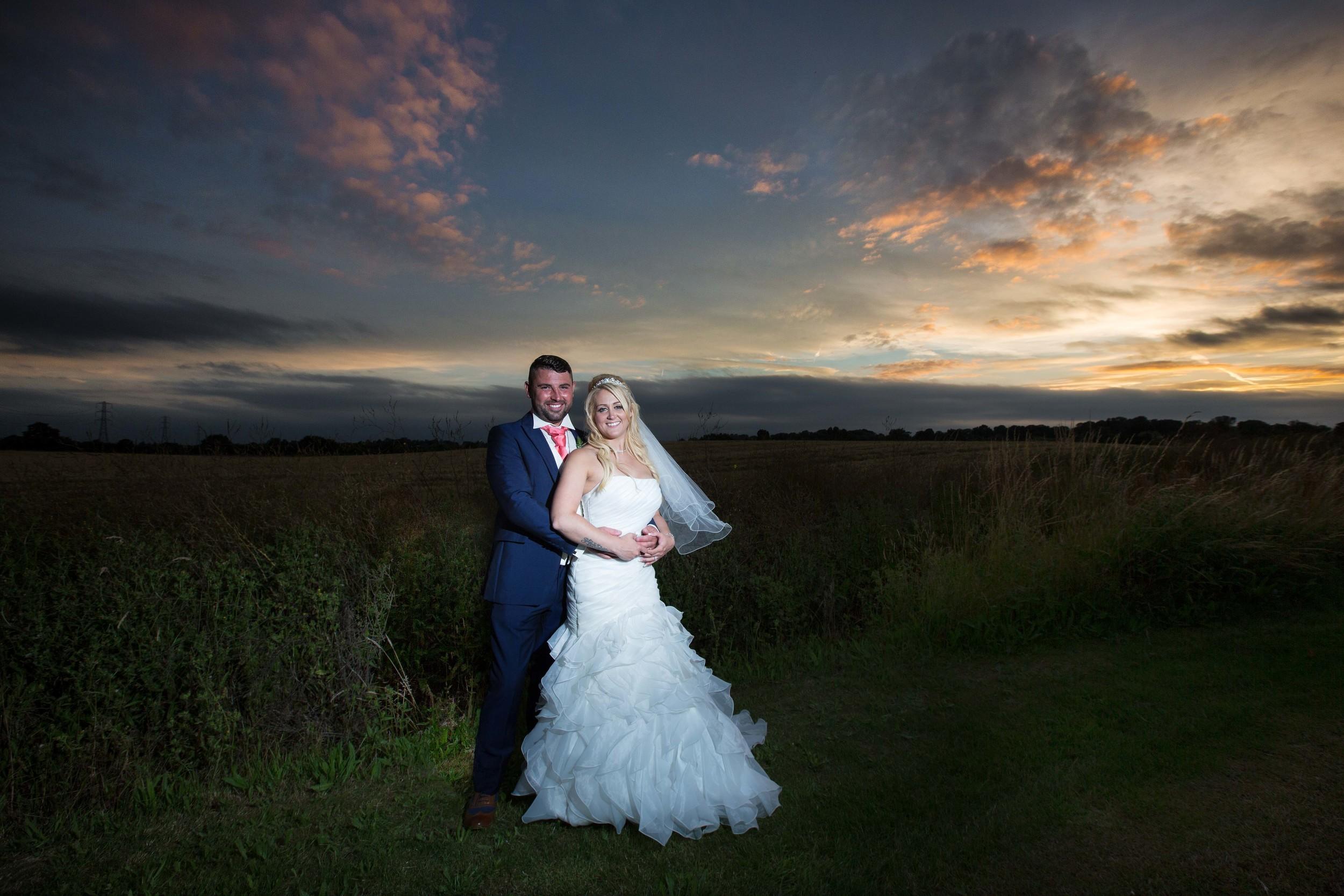 Essex-countryside-wedding-sunset-1