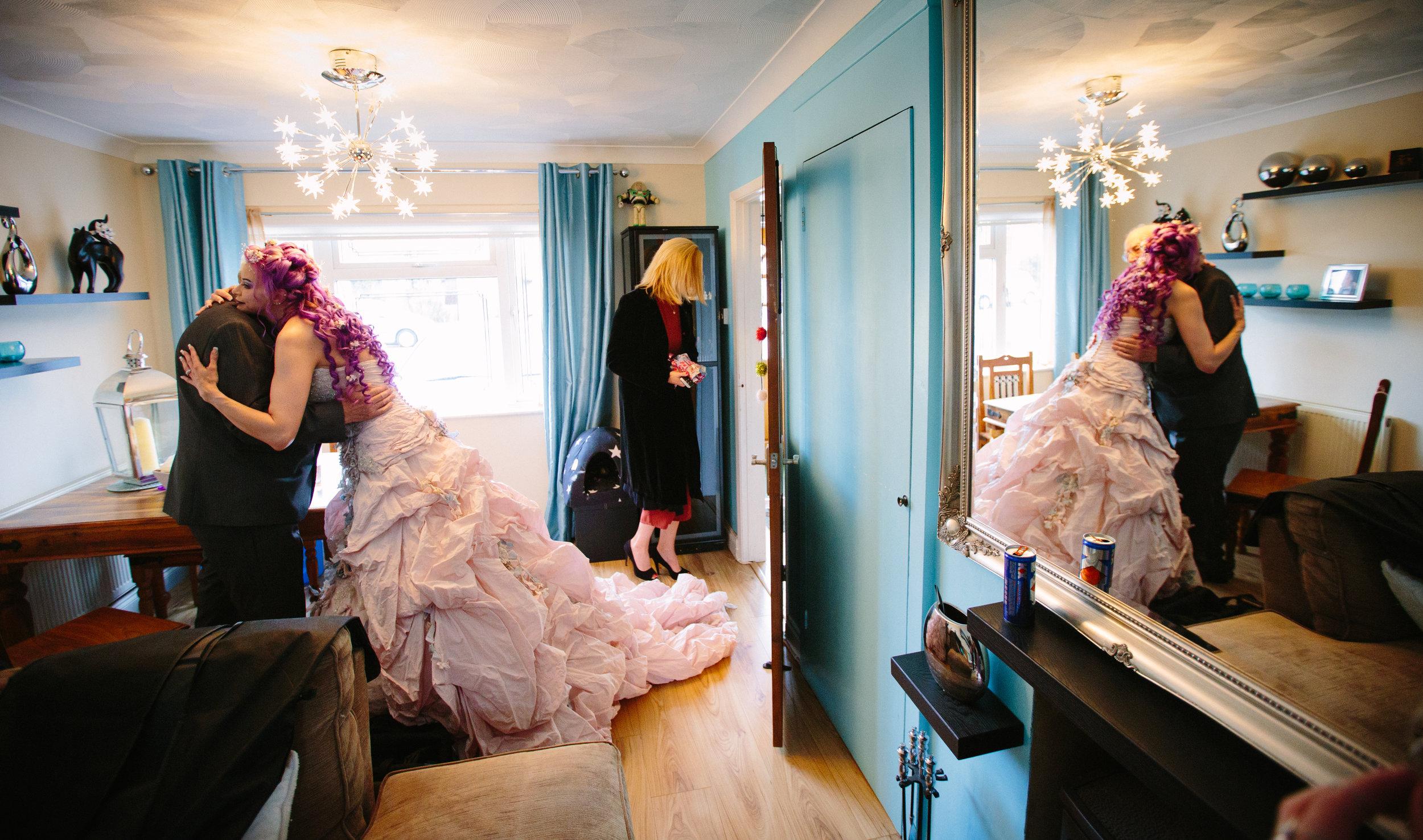 bride-father-mirror-shot-essex-movie-theme-wedding-5