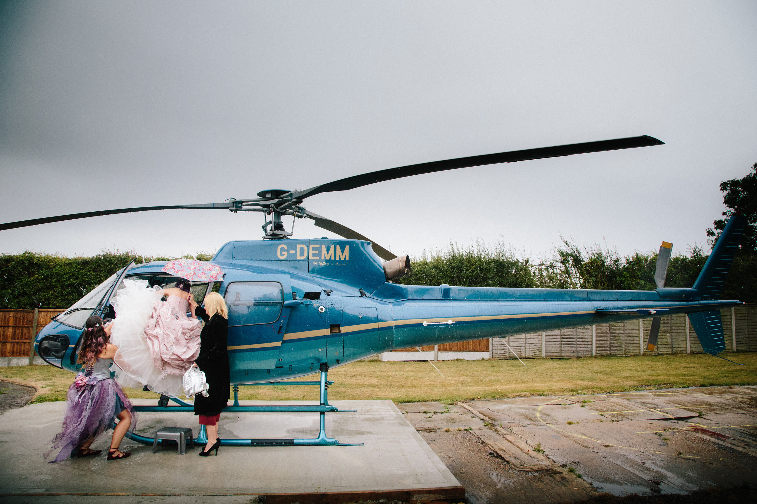 helicopter-bridesmaid-essex-movie-theme-wedding-8