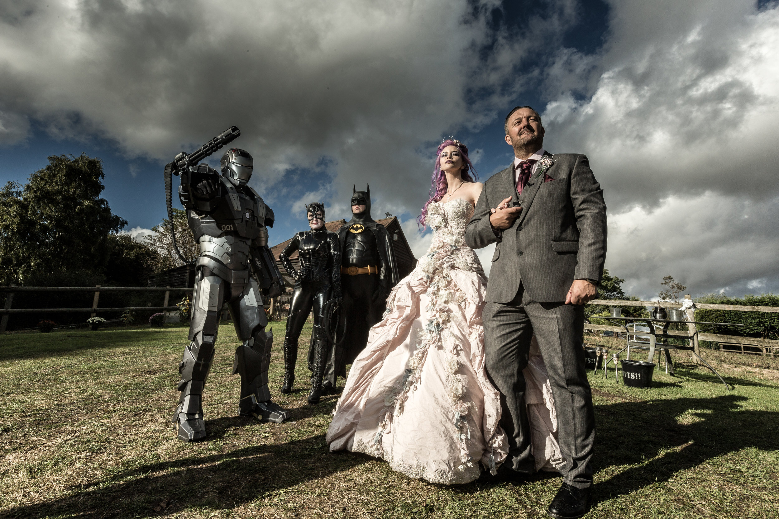 Hollwyood-characters-bride-essex-movie-theme-wedding-portrait-1
