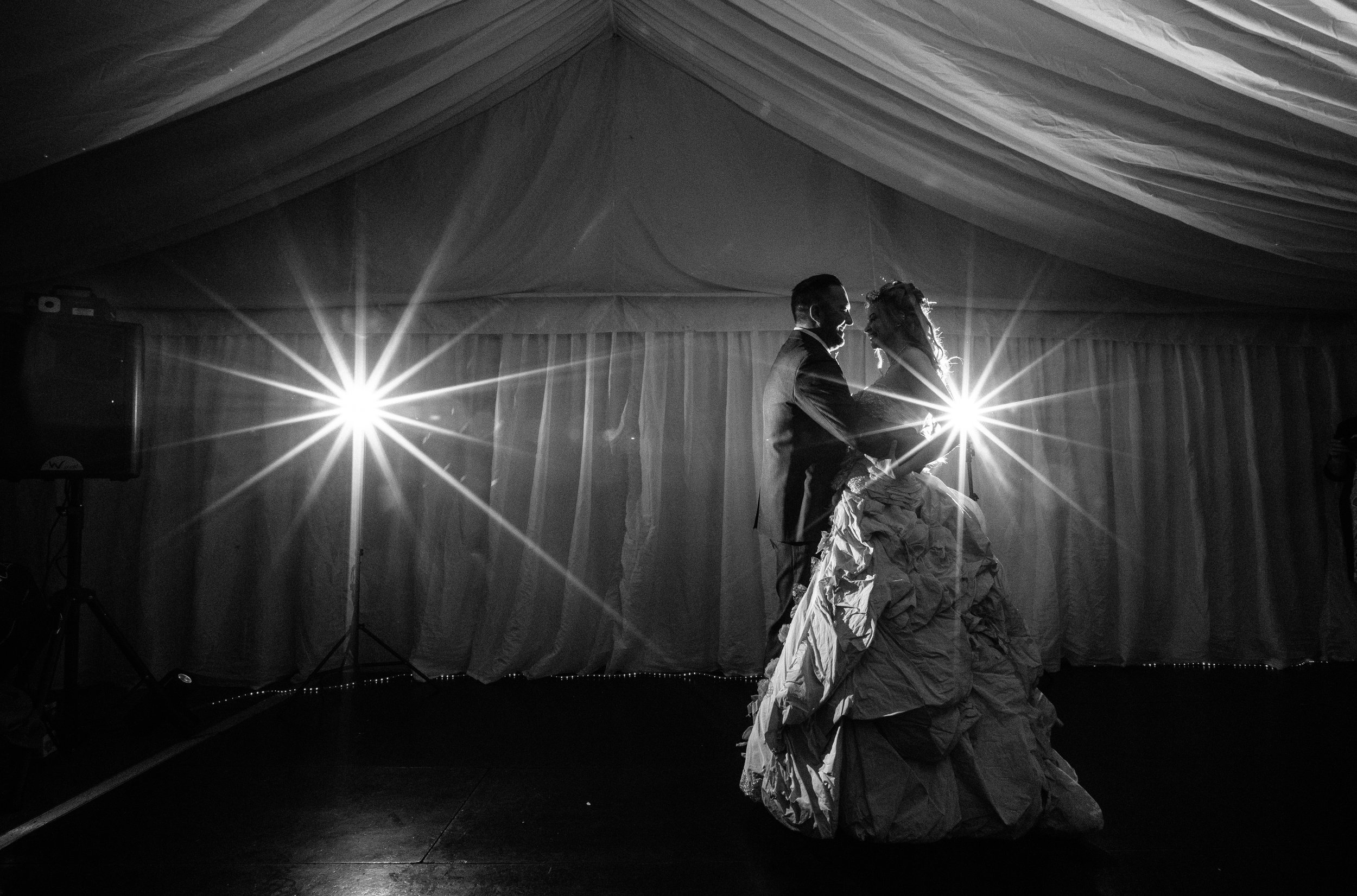 Hollwyood-characters-bride-essex-movie-theme-wedding-first-dance-light-sabre-6