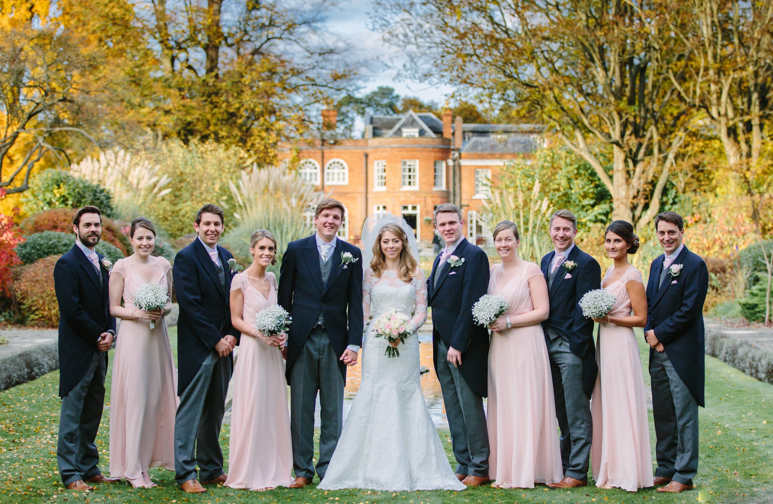 surrey-ascot-royal-berkshire-hotel-autumn-wedding-group-shot-bridesmaids-9