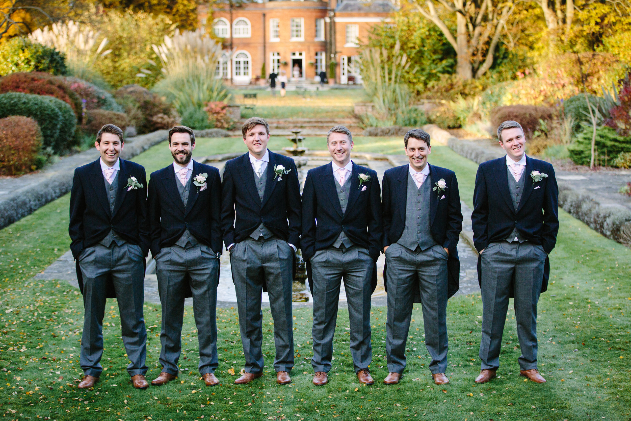 surrey-ascot-royal-berkshire-hotel-autumn-wedding-group-shot-groomsmen-1