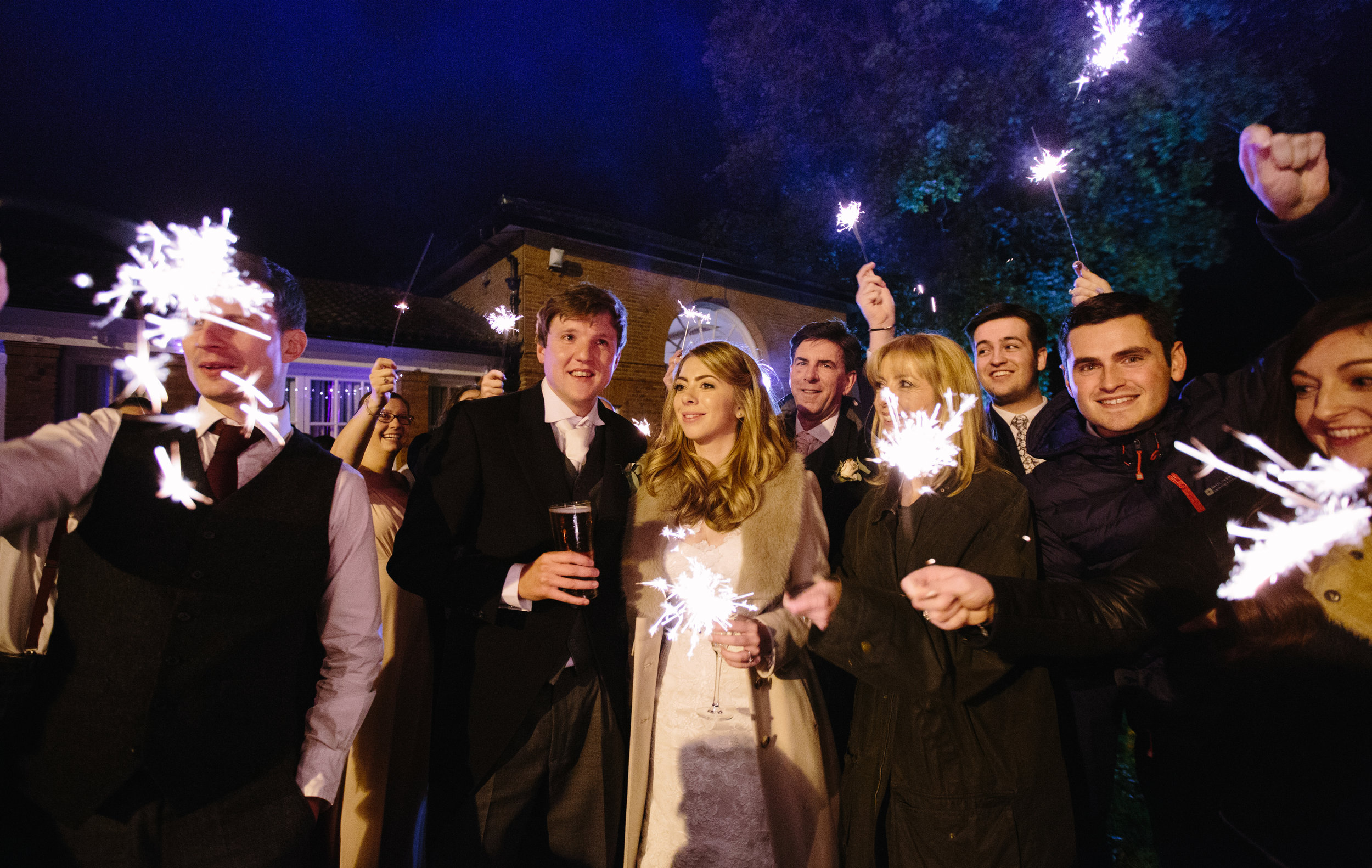 surrey-ascot-royal-berkshire-hotel-autumn-wedding-sparklers-fireworks-68