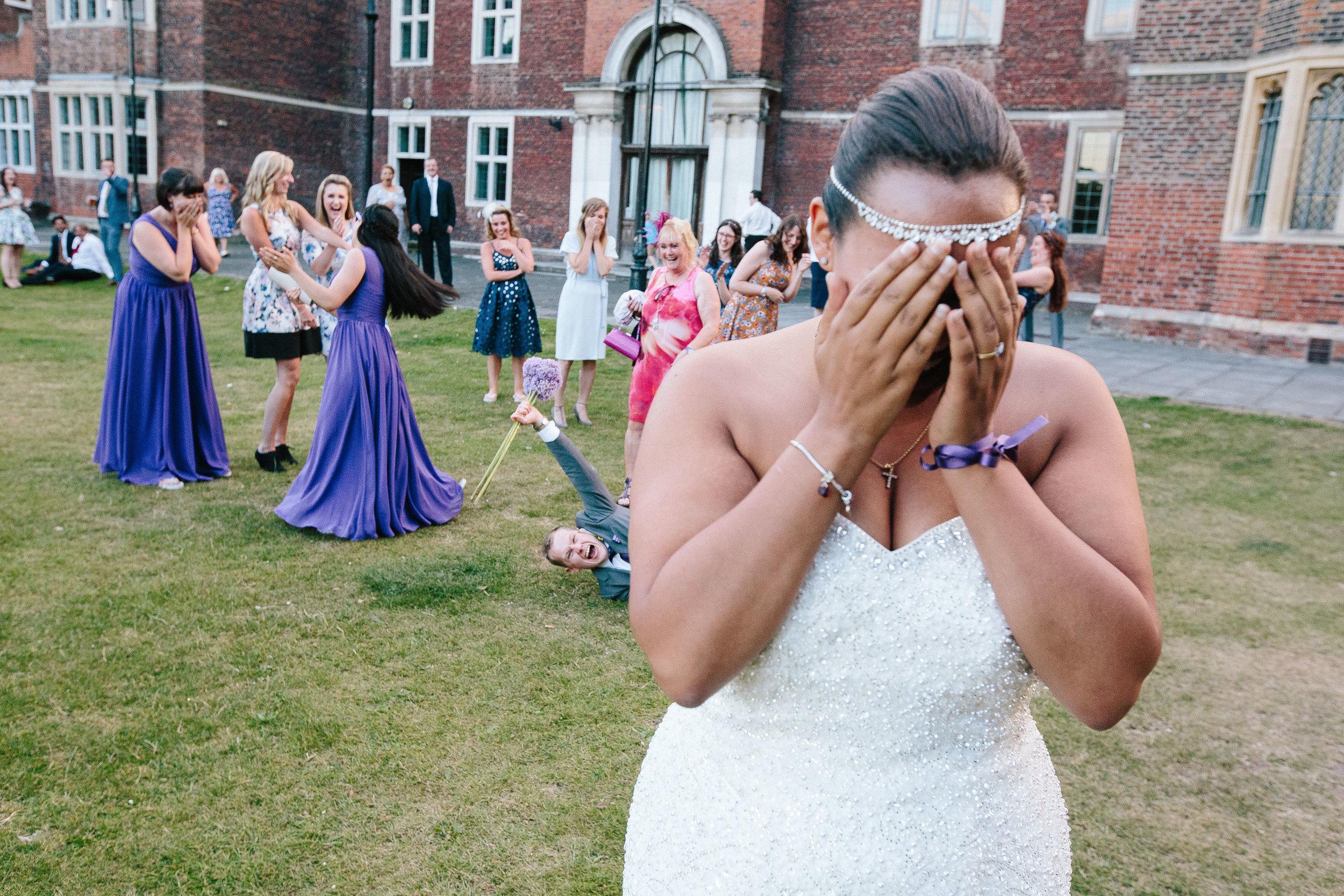 Saint-Alfege-Church-greenwich-wedding-charlton-house-bouquet-toss-1
