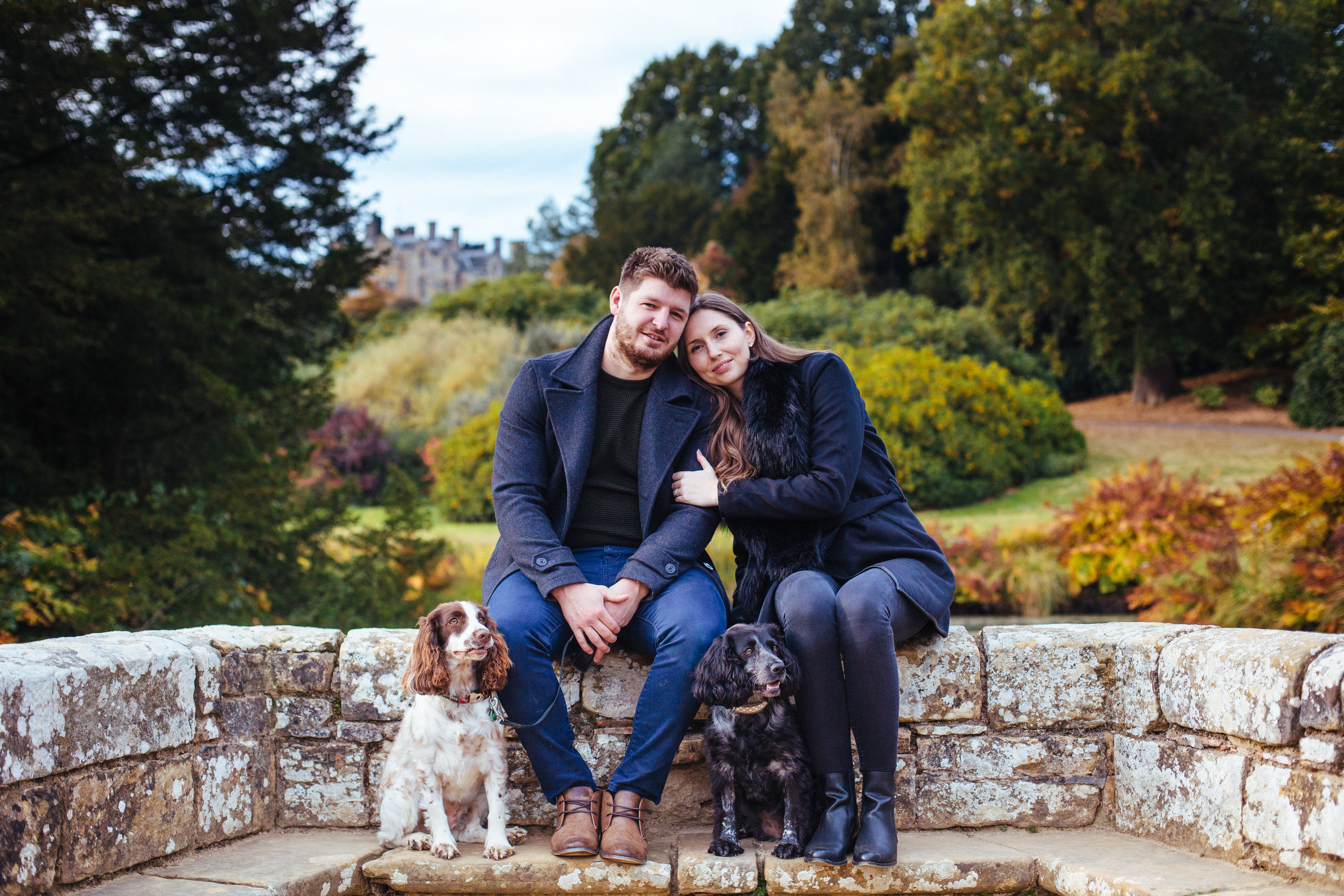 Scotney-Castle-Kent-London-Engagement-Wedding-Photography-dogs-3